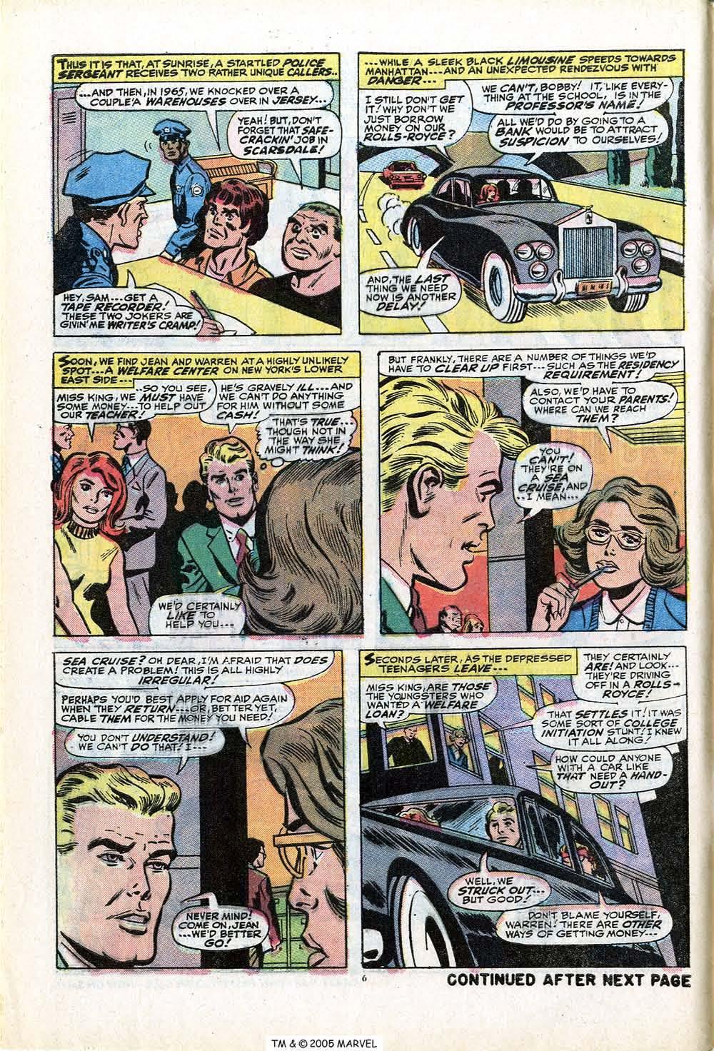 Uncanny X-Men (1963) 84 Page 7