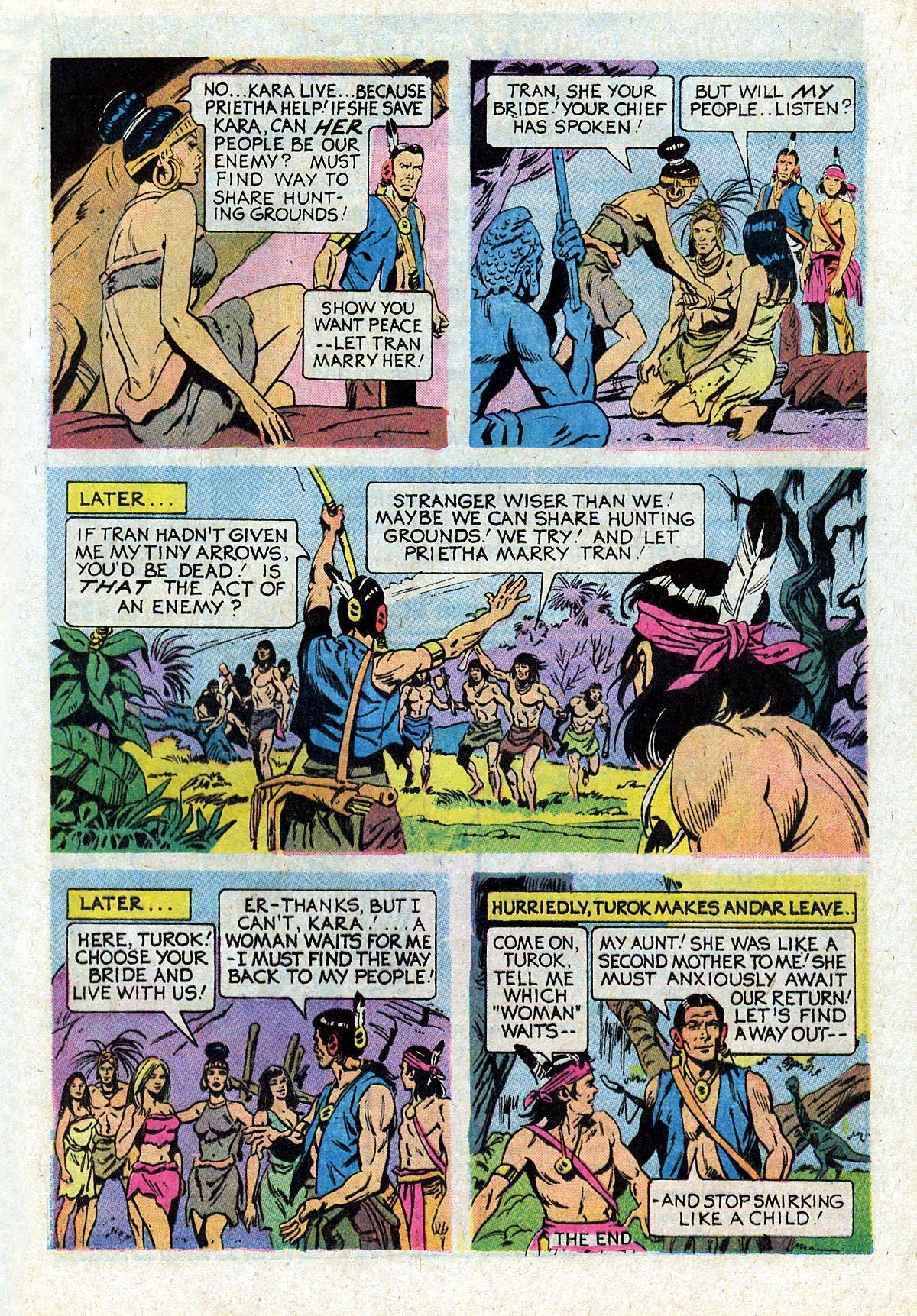 Read online Turok, Son of Stone comic -  Issue #93 - 17