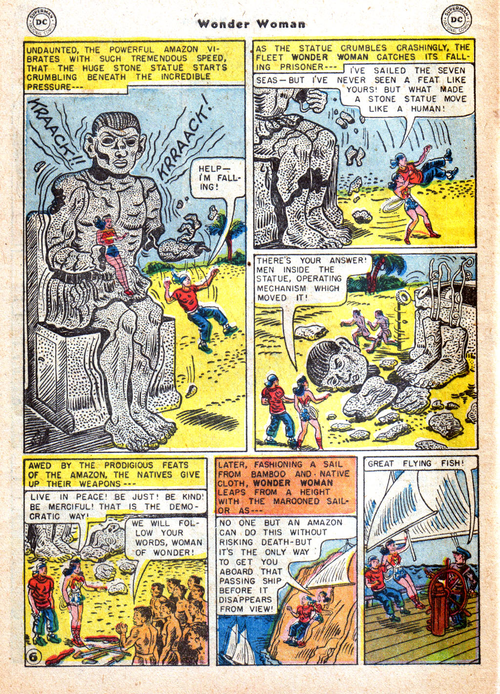 Read online Wonder Woman (1942) comic -  Issue #72 - 8