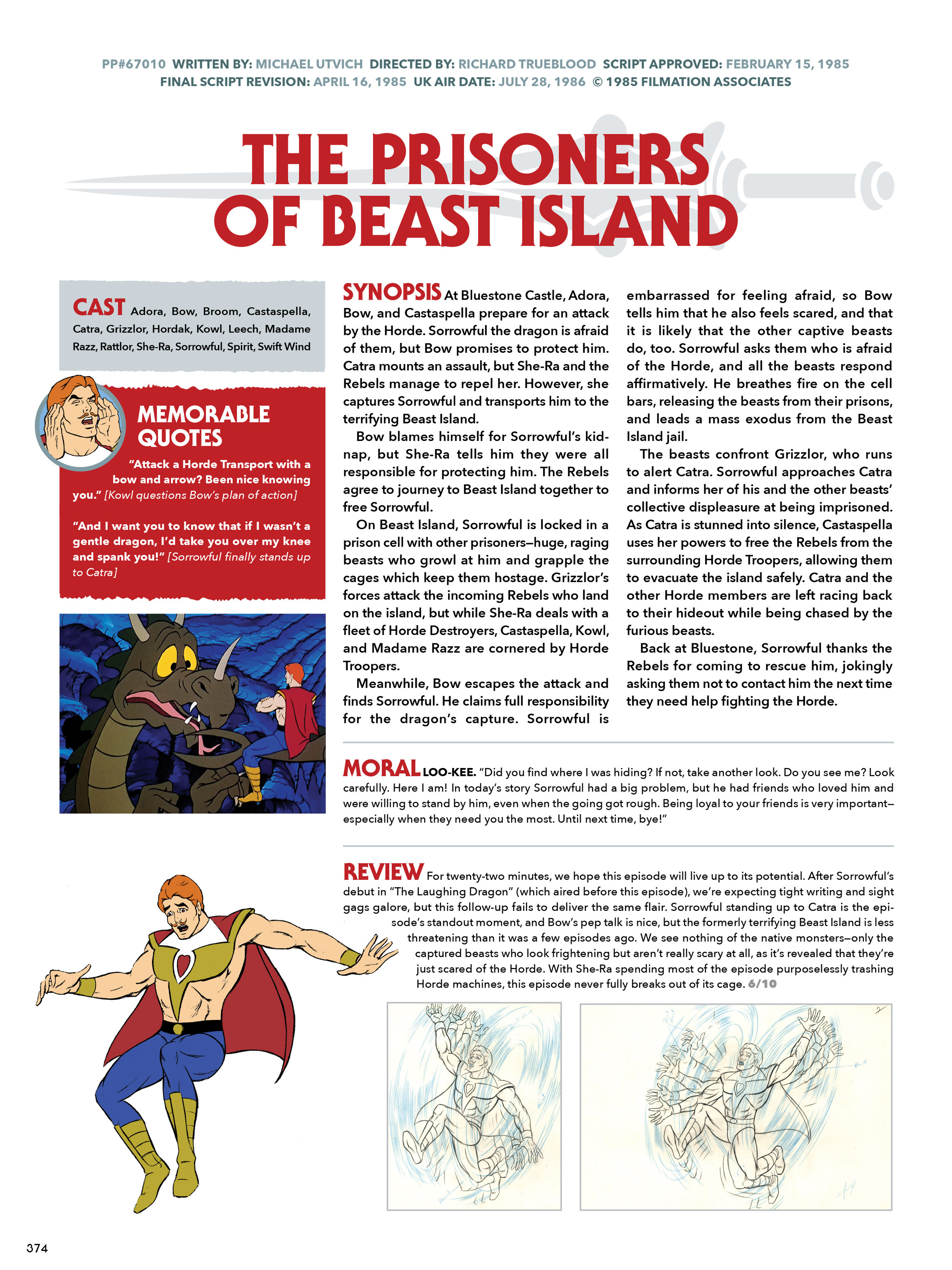 Read online He-Man and She-Ra: A Complete Guide to the Classic Animated Adventures comic -  Issue # TPB (Part 2) - 175