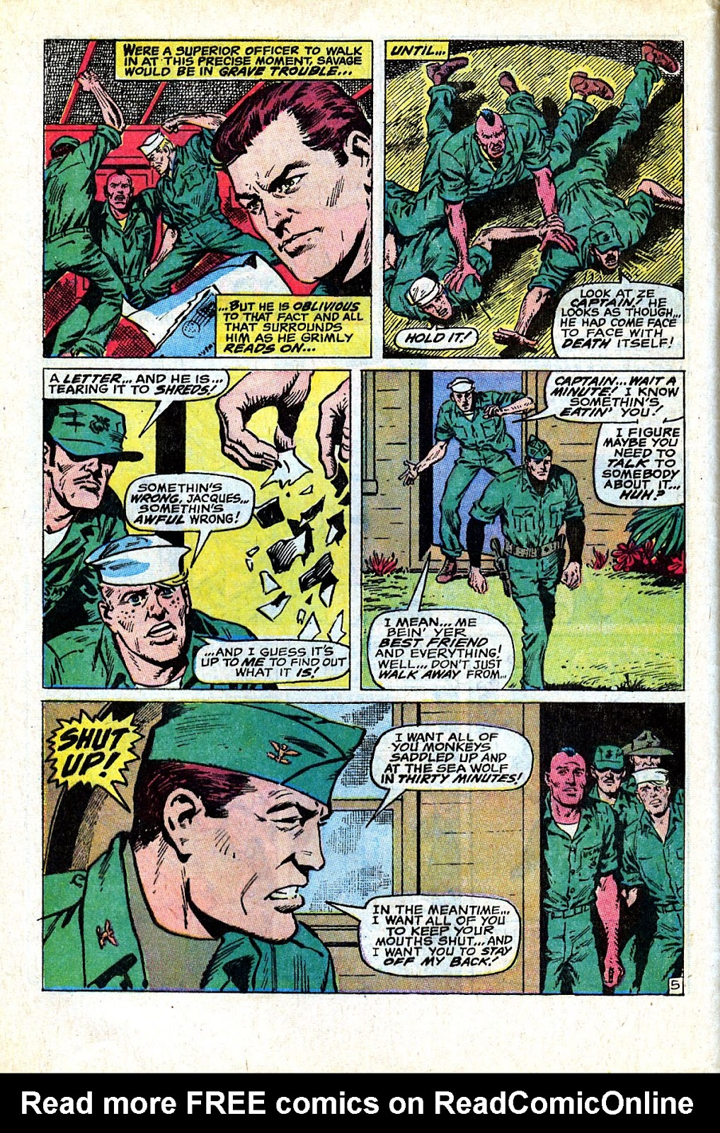 Captain Savage and his Leatherneck Raiders issue 18 - Page 8