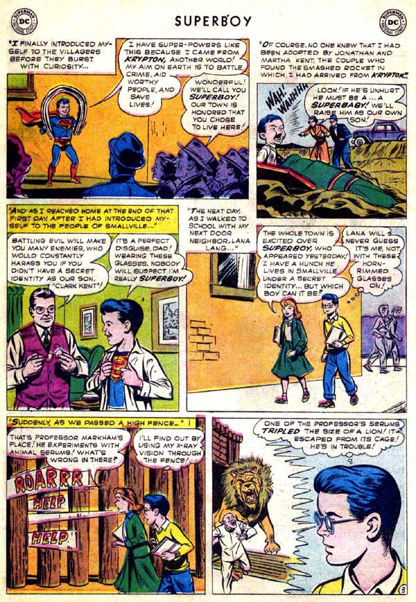 Superboy (1949) issue 70 - Page 21