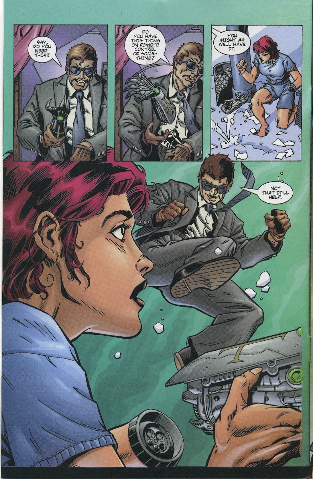 Warrior Nun Areala (1997) Issue #4 #4 - English 6