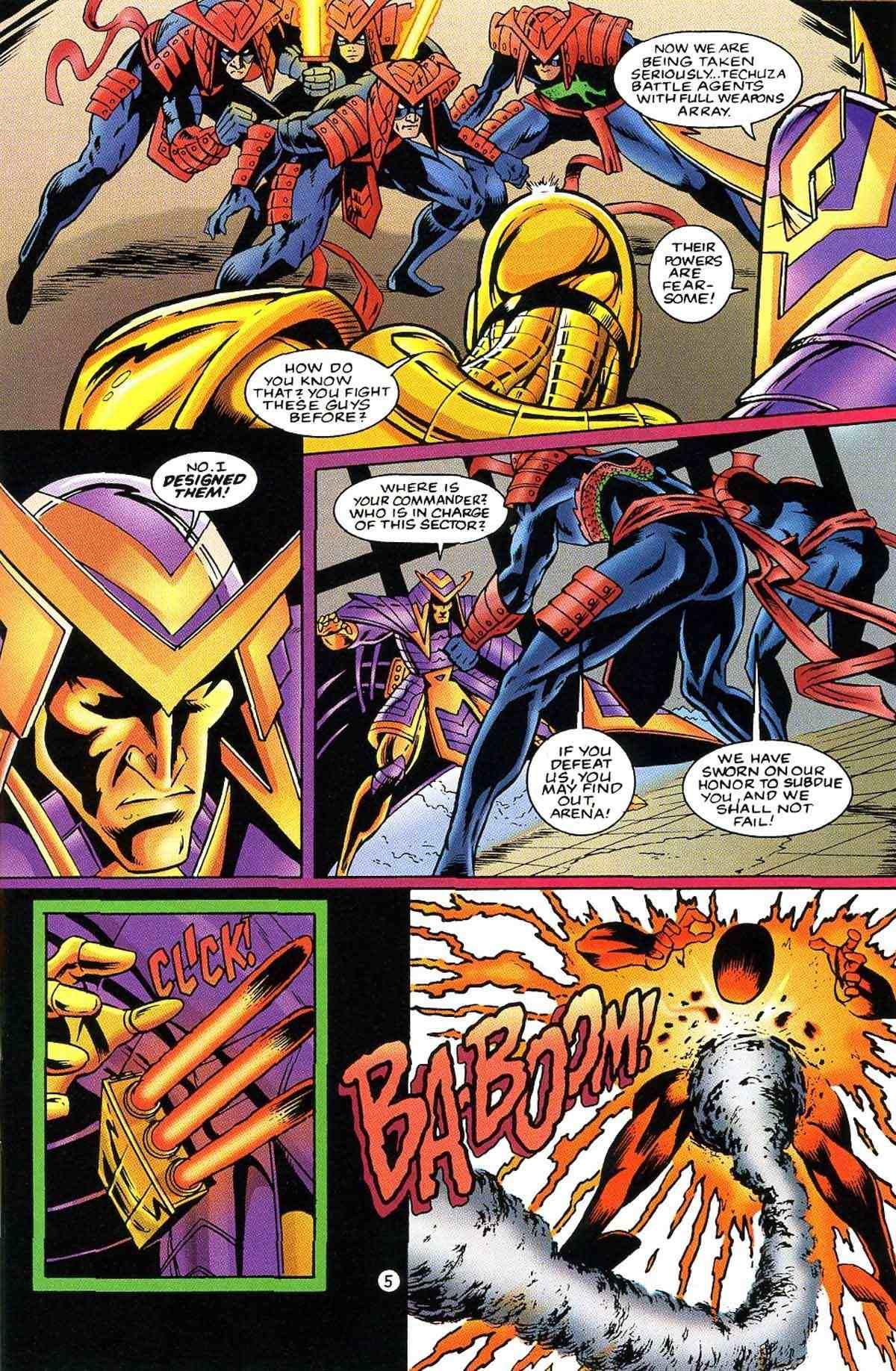 Read online Ultraverse Premiere comic -  Issue #10 - 38