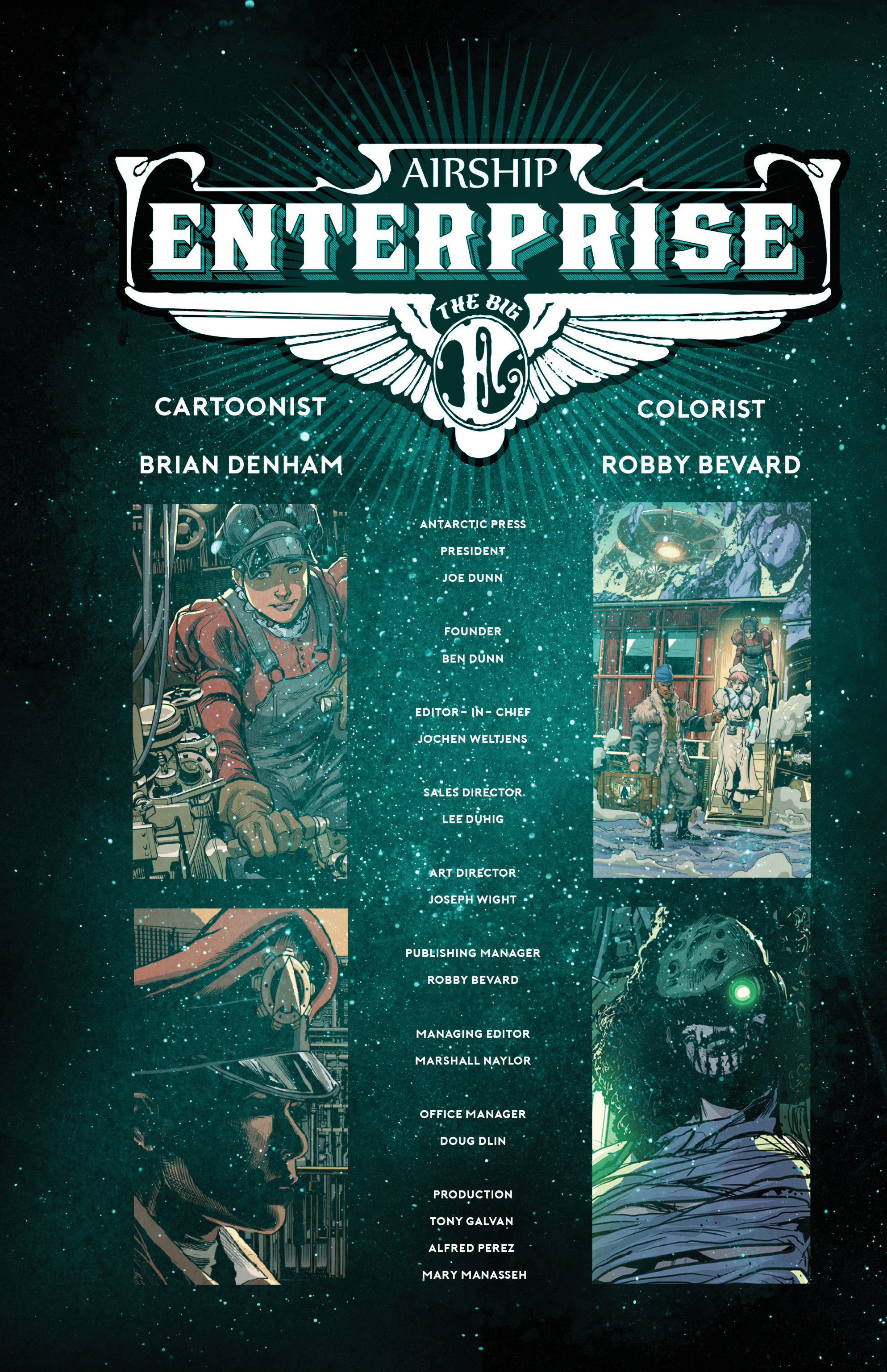 Read online Airship Enterprise: The Infernal Machine comic -  Issue #4 - 16