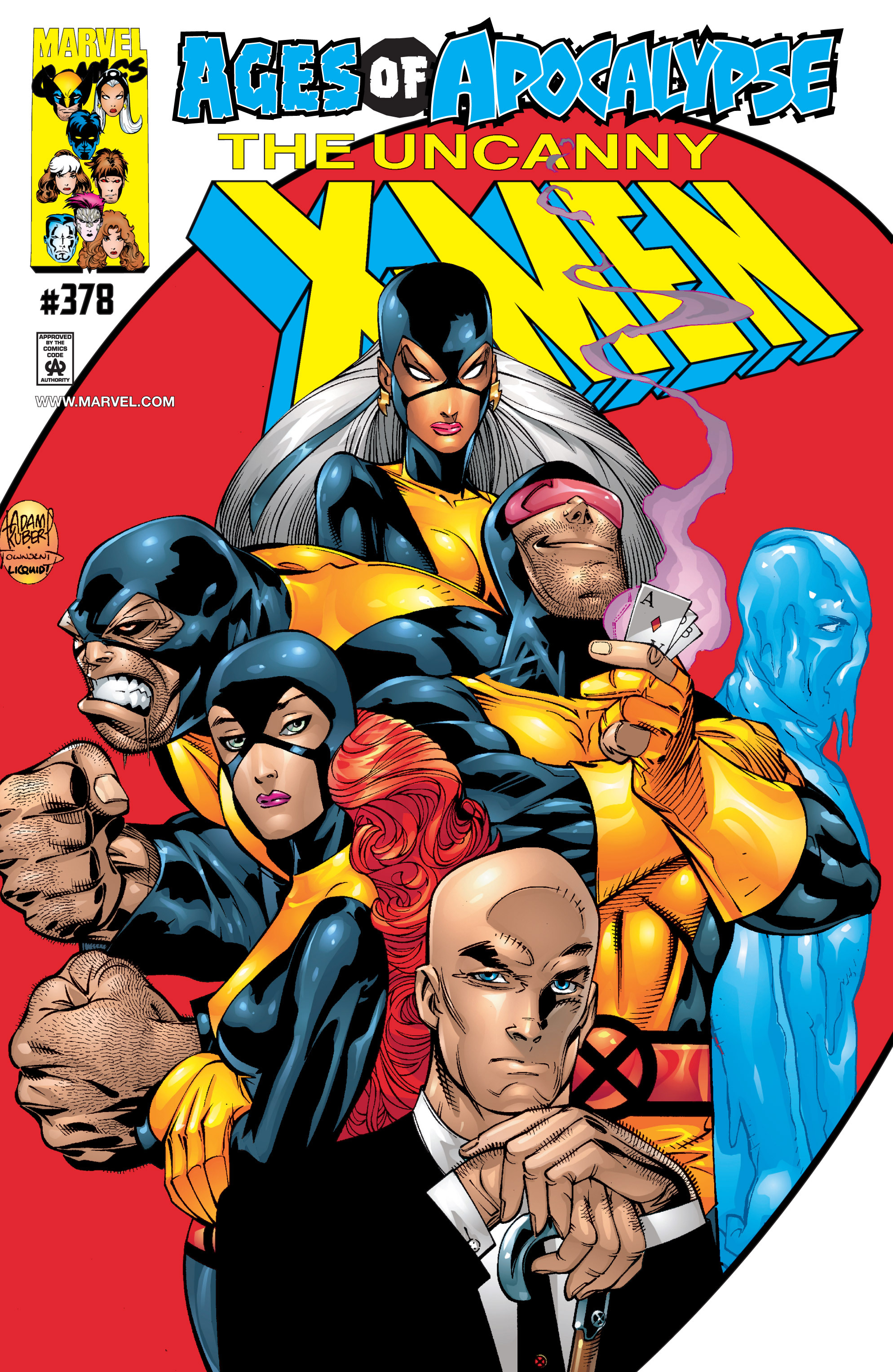 Uncanny X-Men (1963) 378 Page 1