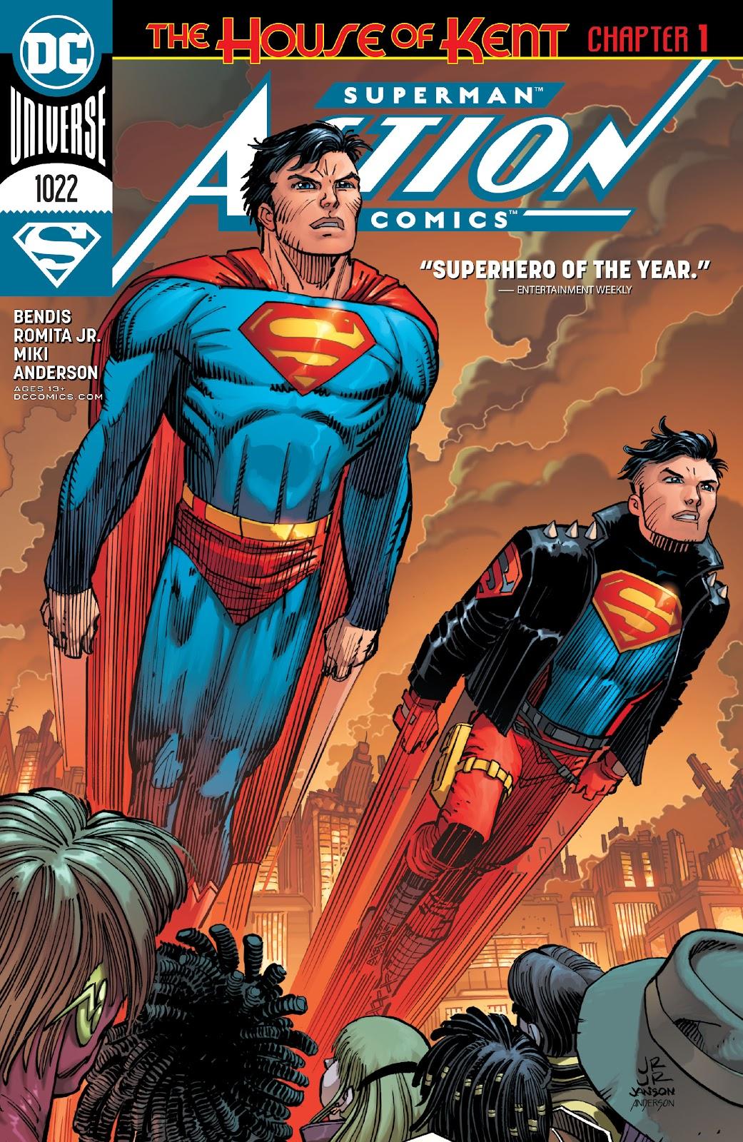 Action Comics (2016) 1022 Page 1