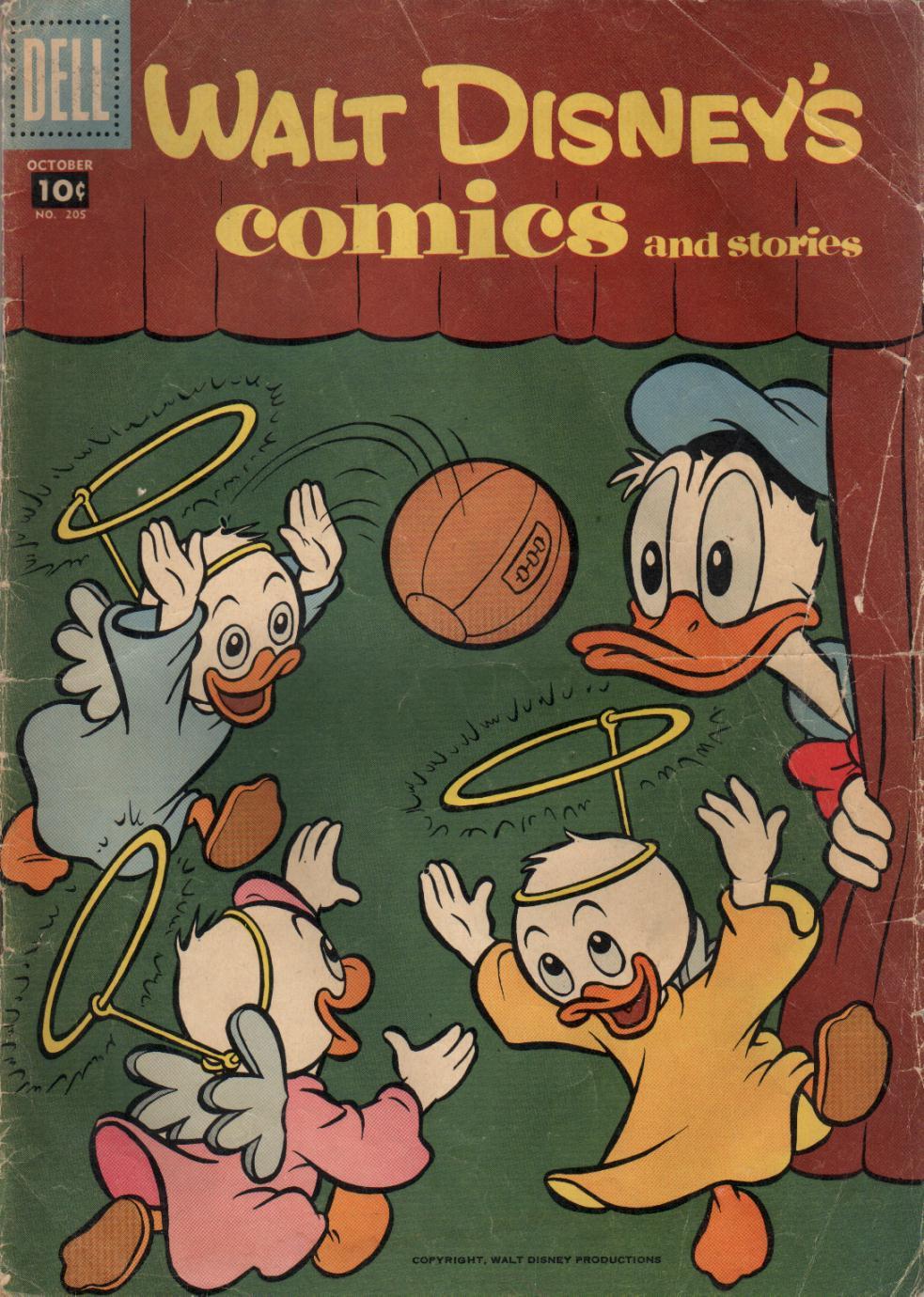 Walt Disneys Comics and Stories 205 Page 1