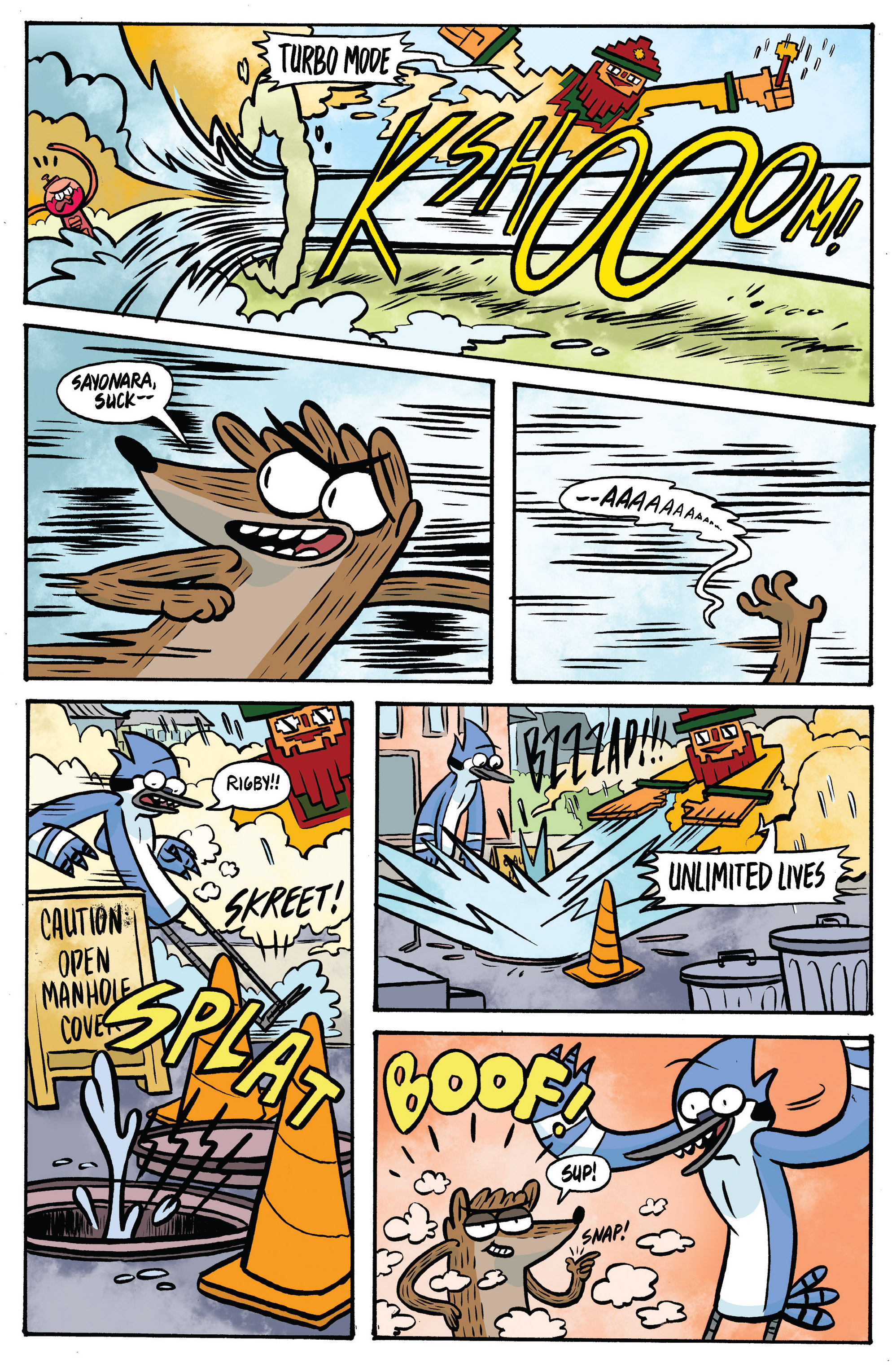 Read online Regular Show comic -  Issue # _Annual 1 - 21