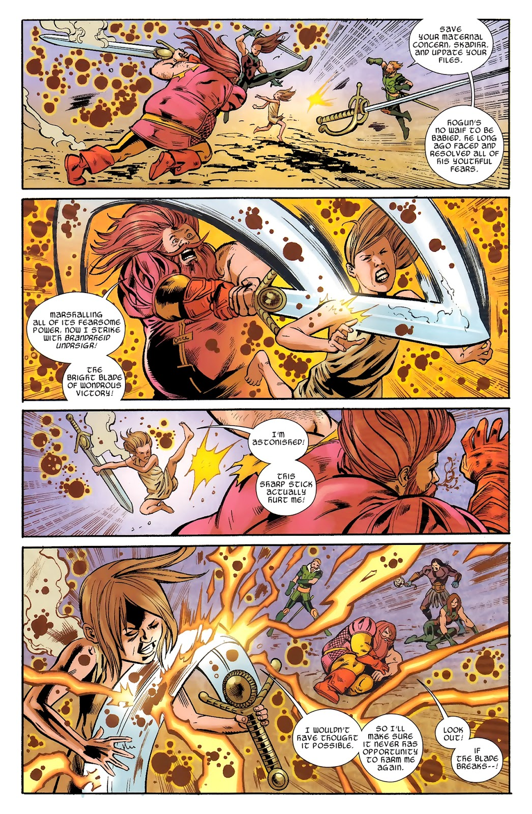 Warriors Three Issue #4 #4 - English 7