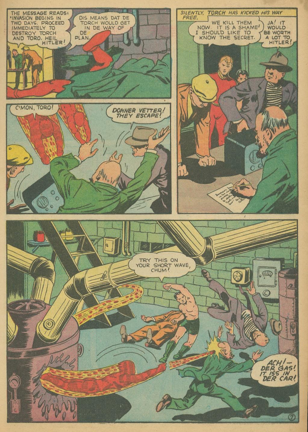 Read online All-Winners Comics comic -  Issue #8 - 11