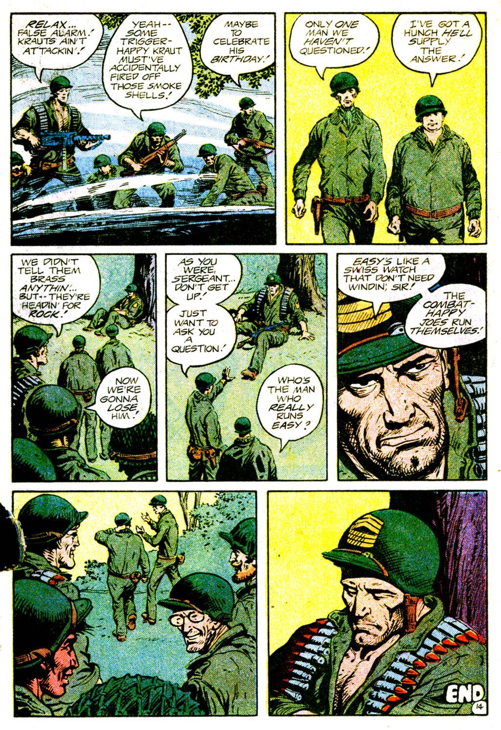 Read online Sgt. Rock comic -  Issue #362 - 17