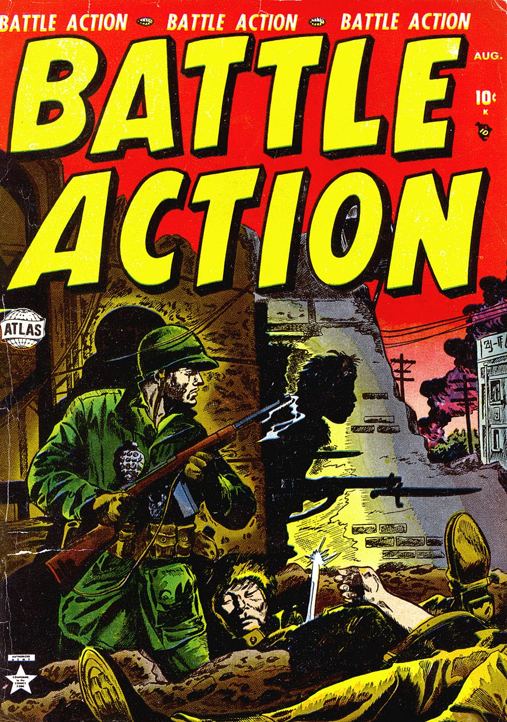 Battle Action issue 4 - Page 1