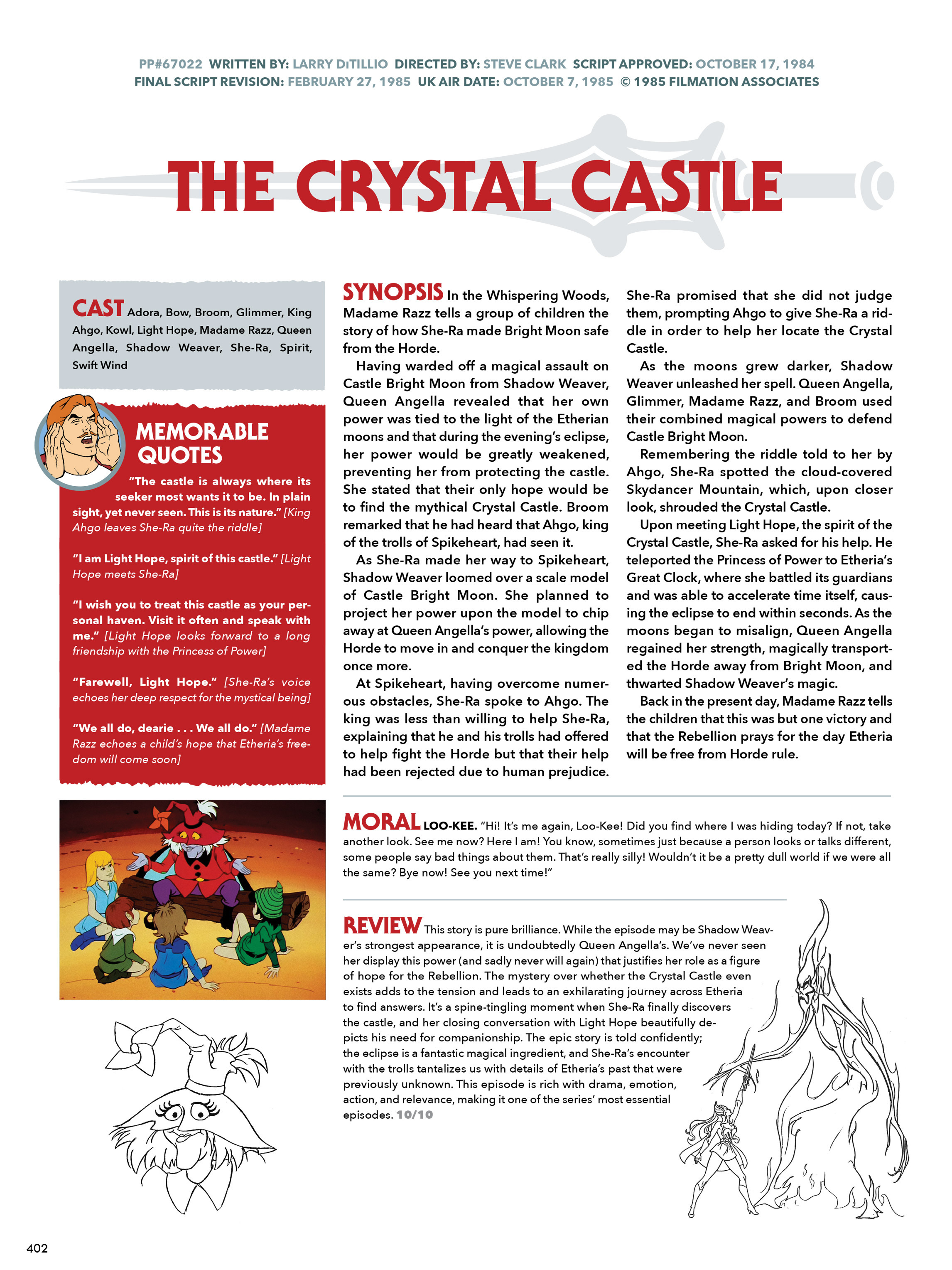 Read online He-Man and She-Ra: A Complete Guide to the Classic Animated Adventures comic -  Issue # TPB (Part 3) - 3