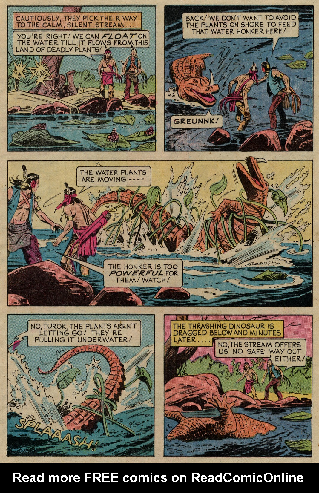 Read online Turok, Son of Stone comic -  Issue #98 - 11