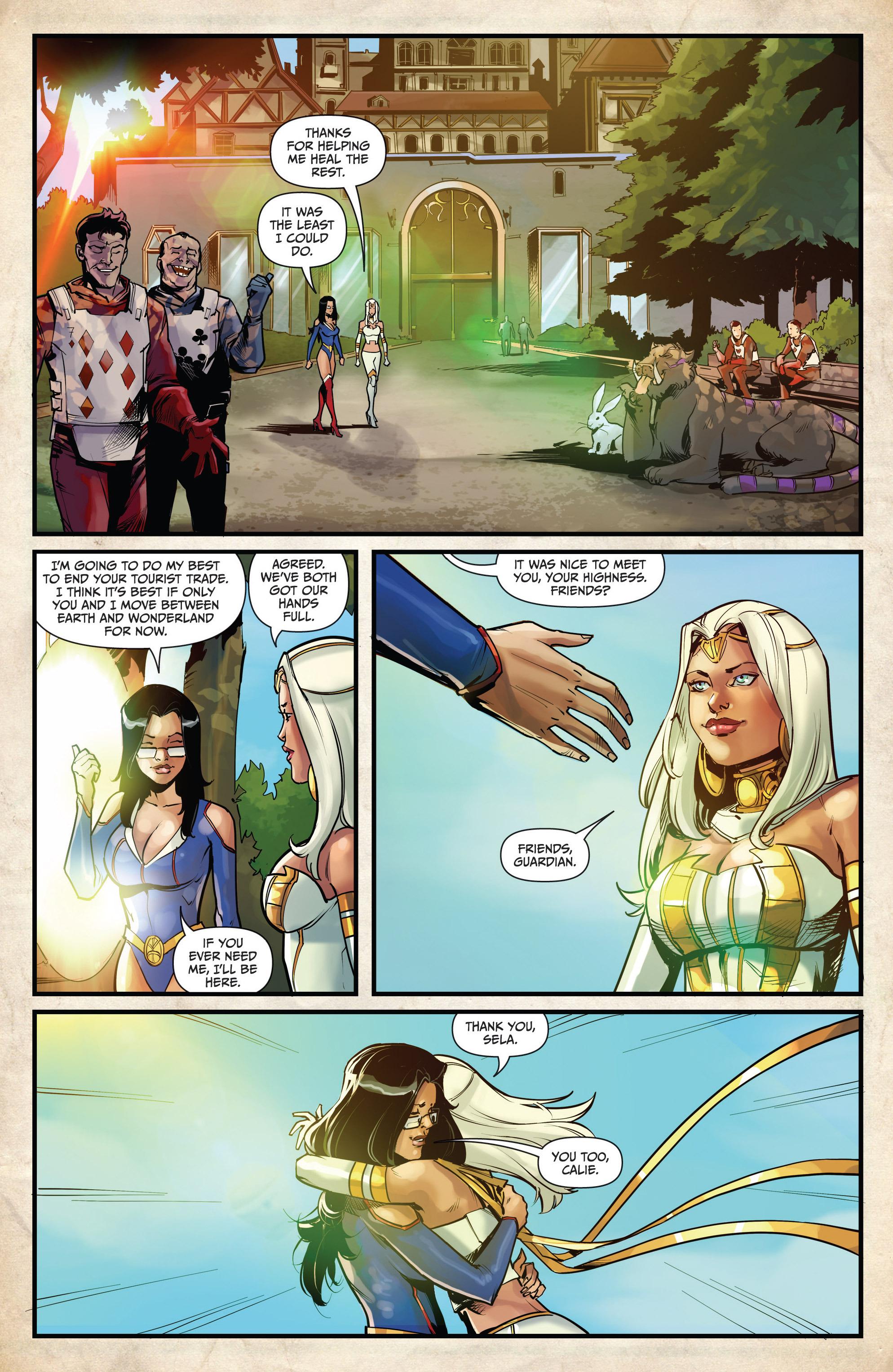 Read online Grimm Fairy Tales vs. Wonderland comic -  Issue #4 - 24