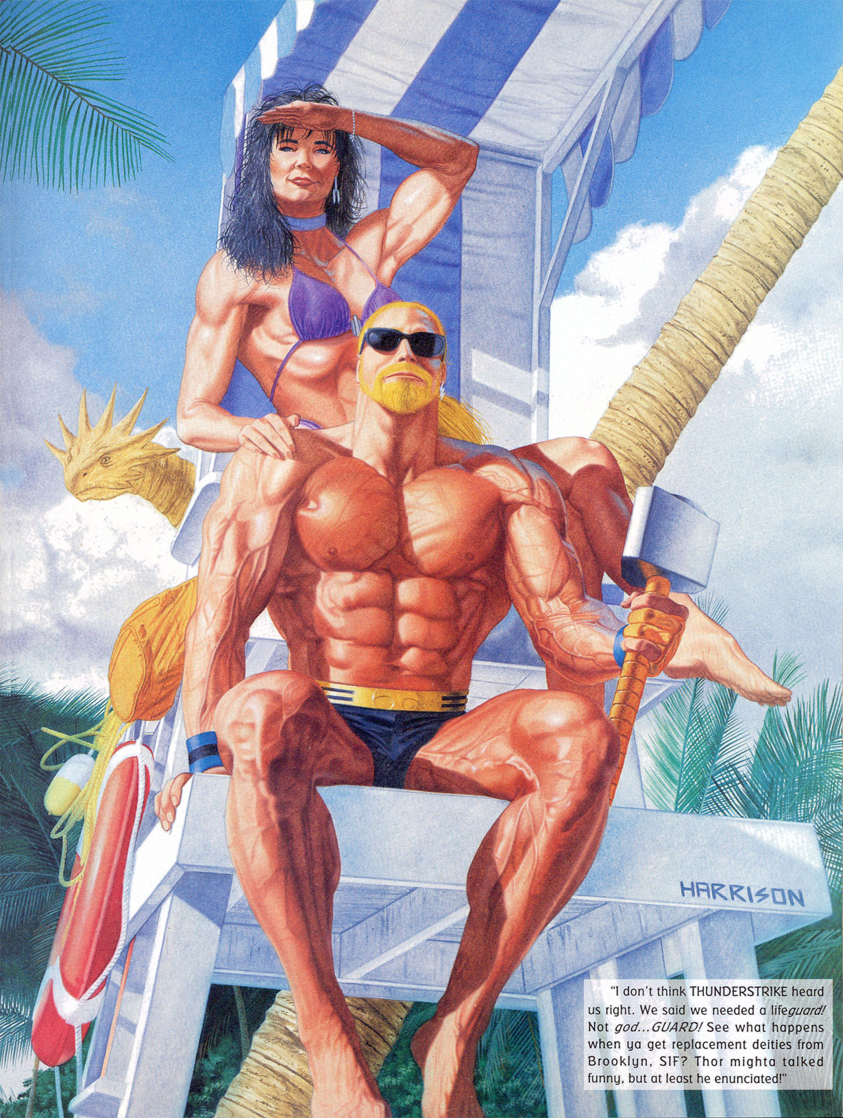 Read online Marvel Swimsuit Special comic -  Issue #2 - 14