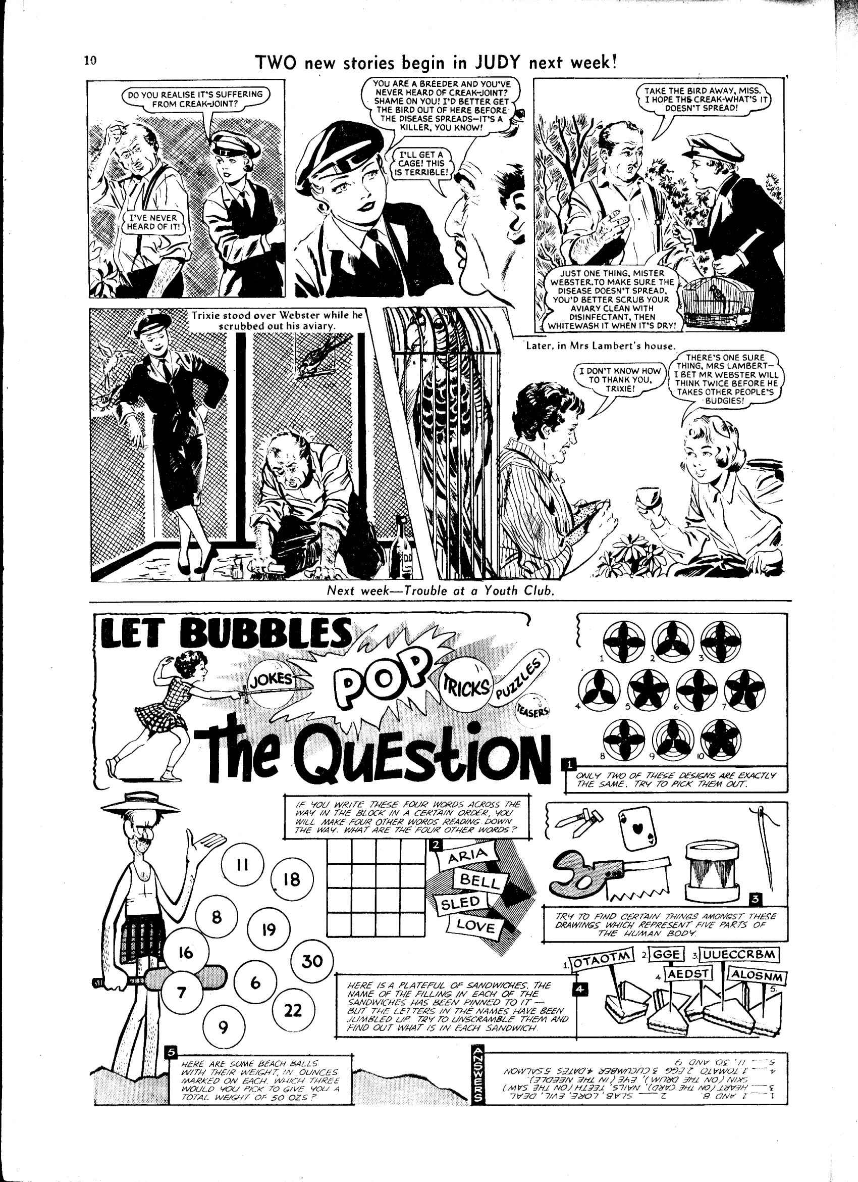 Read online Judy comic -  Issue #46 - 10