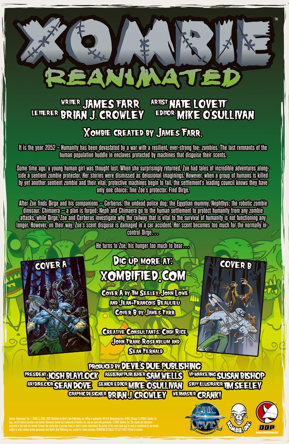 Read online Xombie Reanimated comic -  Issue #3 - 3