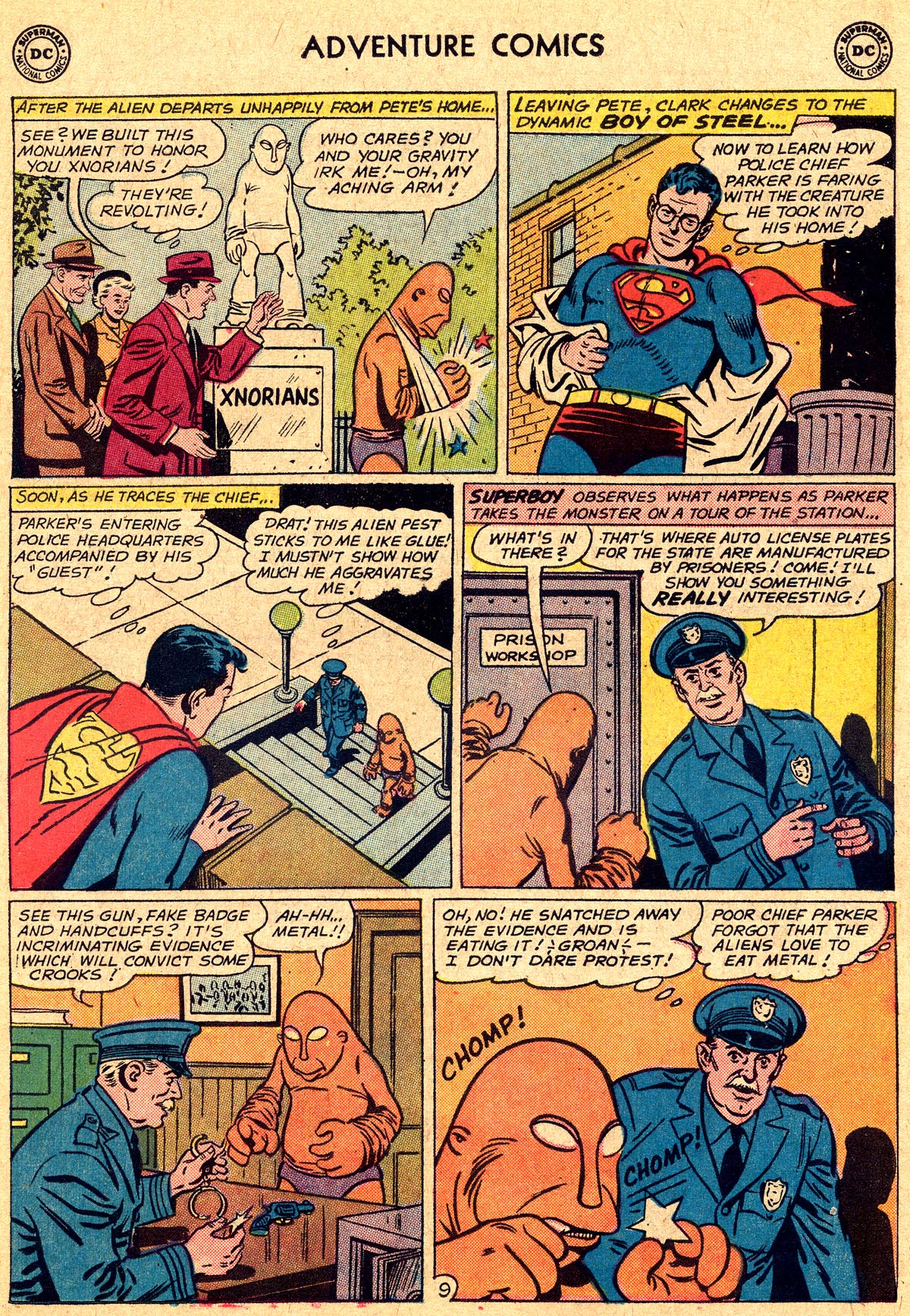 Read online Adventure Comics (1938) comic -  Issue #294 - 11
