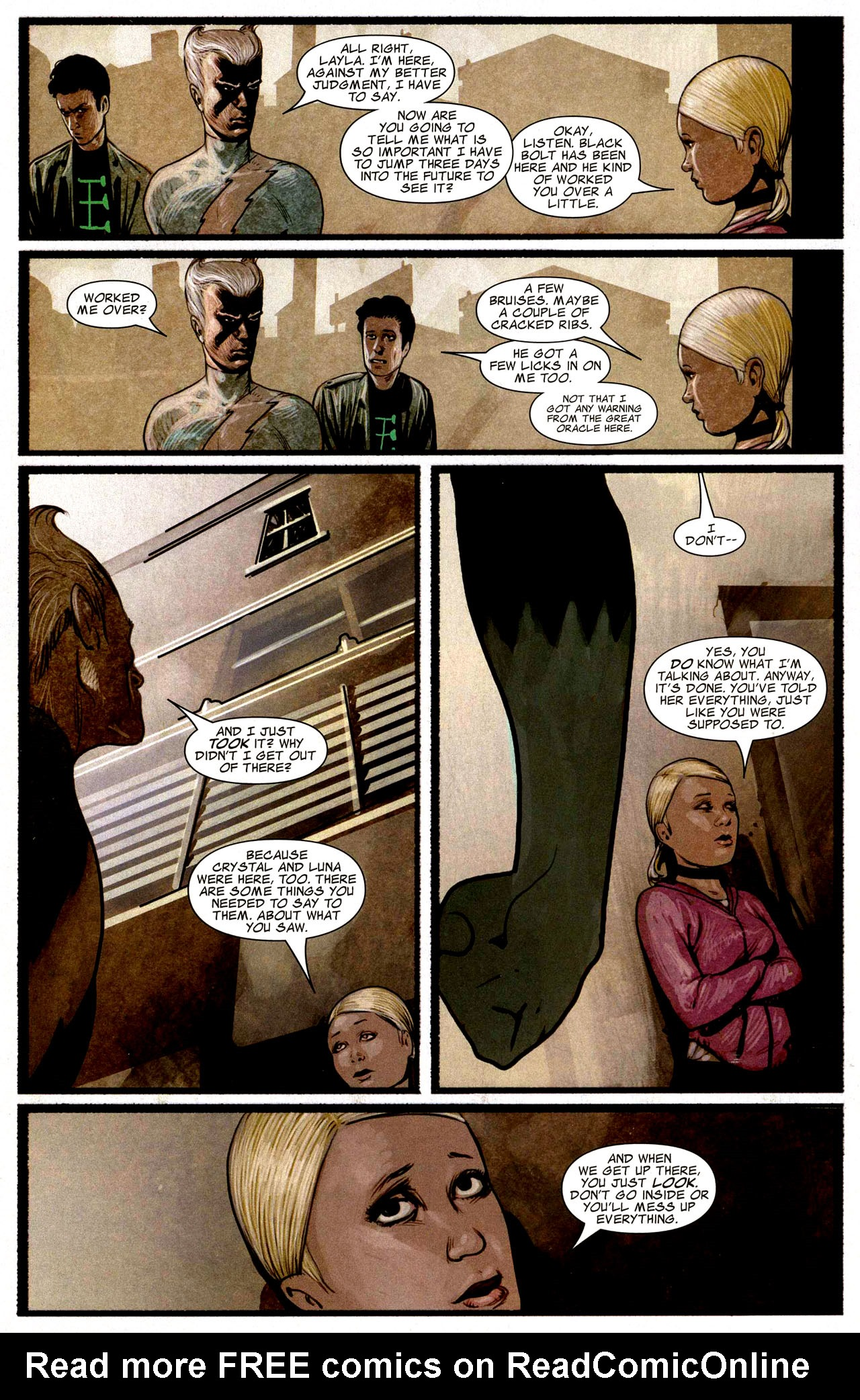 Read online Silent War comic -  Issue #3 - 18