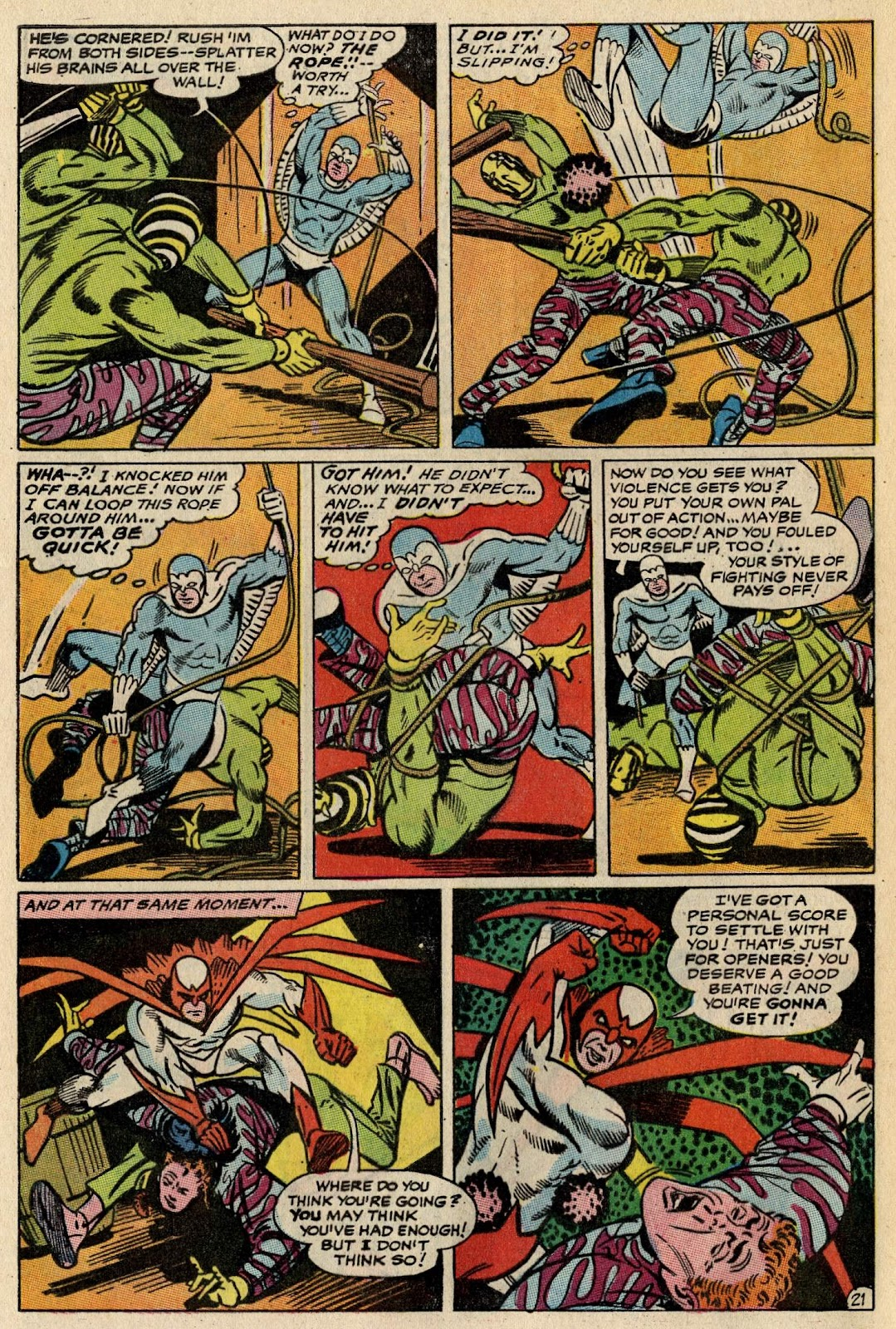 The Hawk and the Dove issue 1 - Page 27