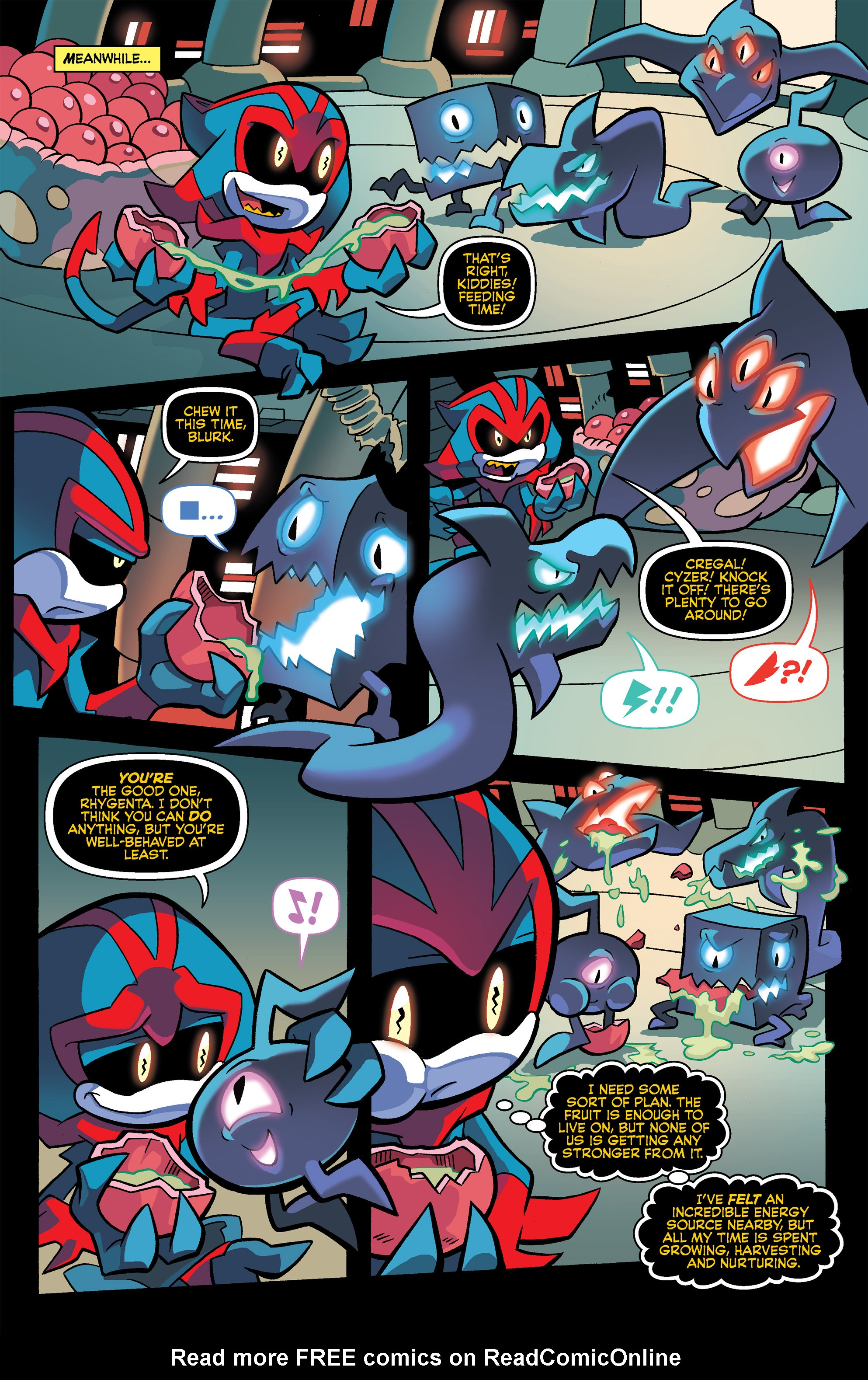 Read online Sonic Universe comic -  Issue #67 - 16