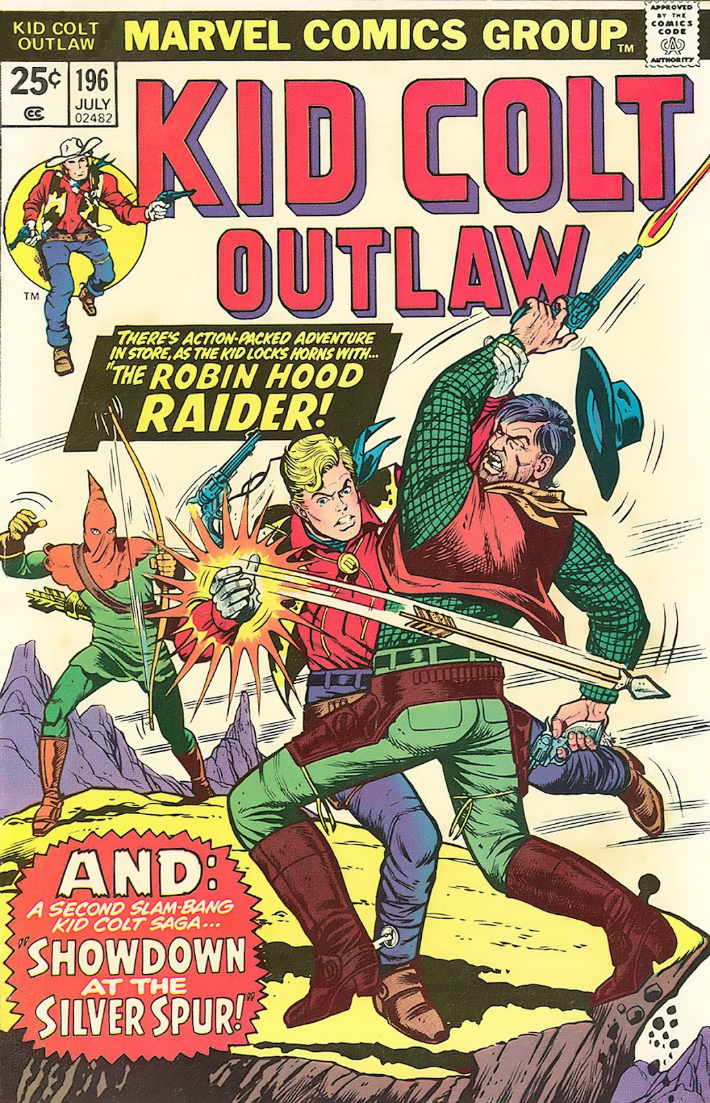Kid Colt Outlaw issue 196 - Page 1