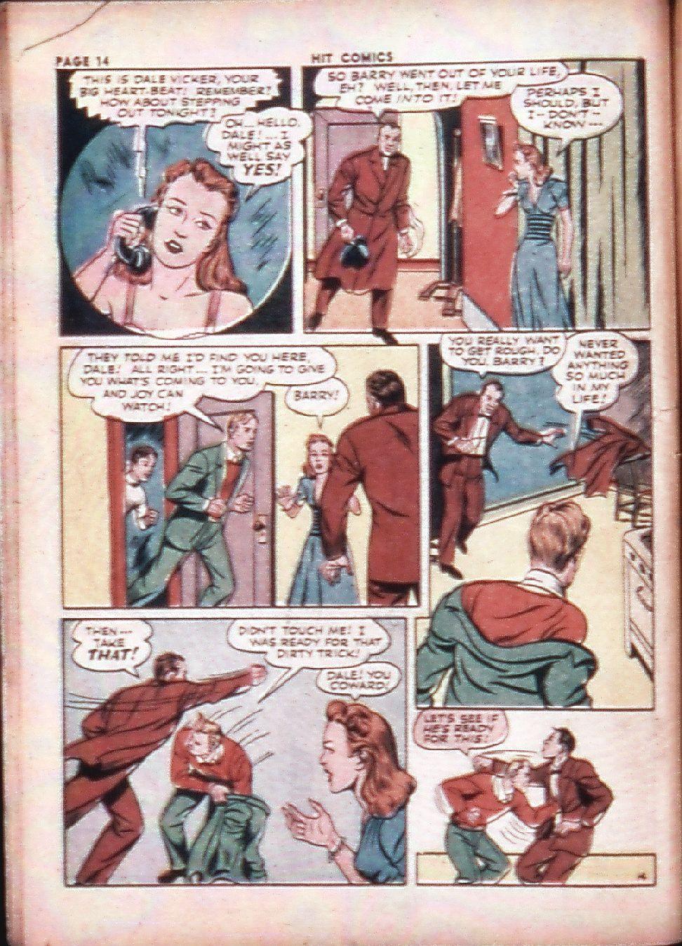 Read online Hit Comics comic -  Issue #29 - 16