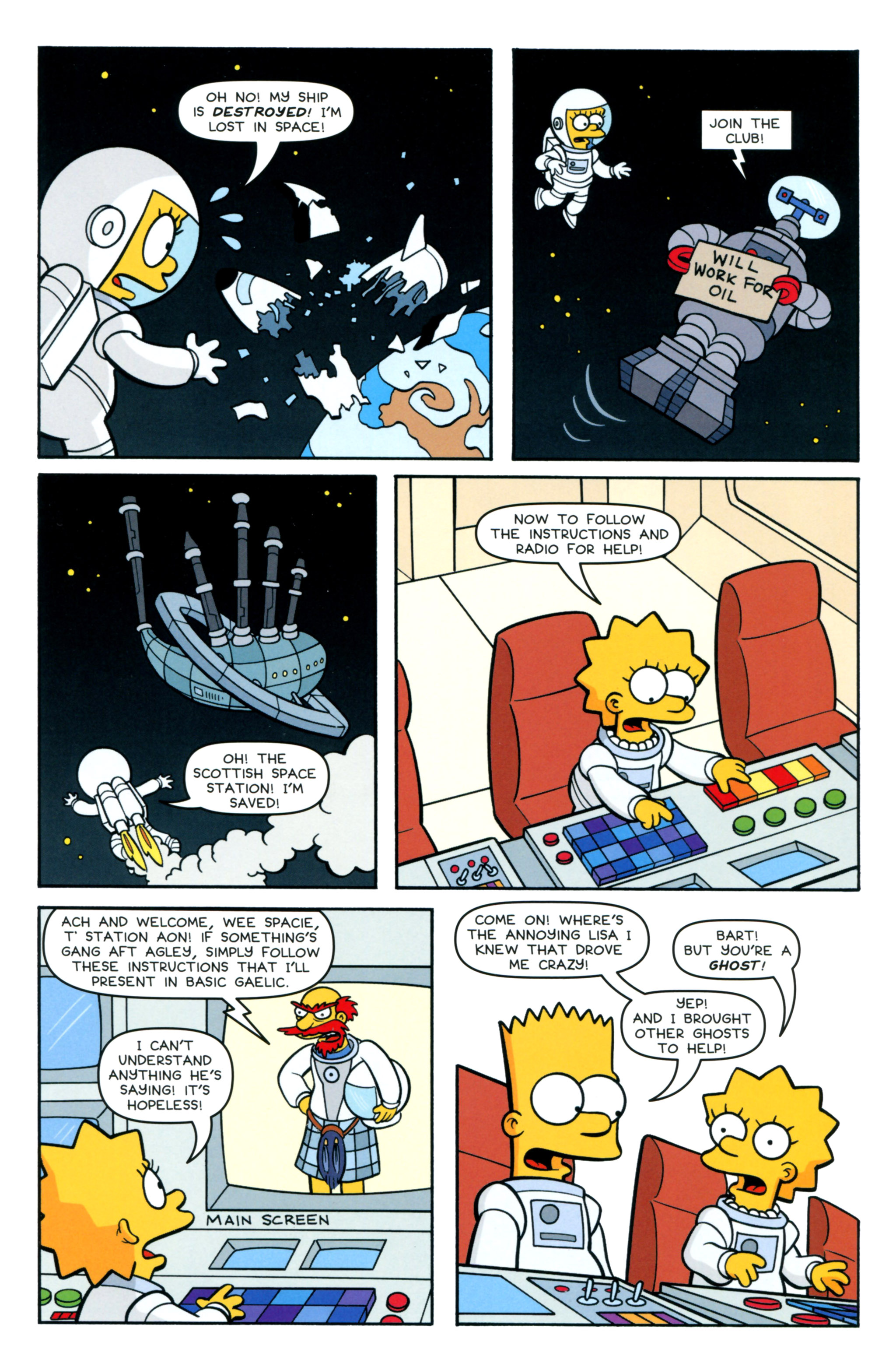 Read online Simpsons Comics comic -  Issue #218 - 25