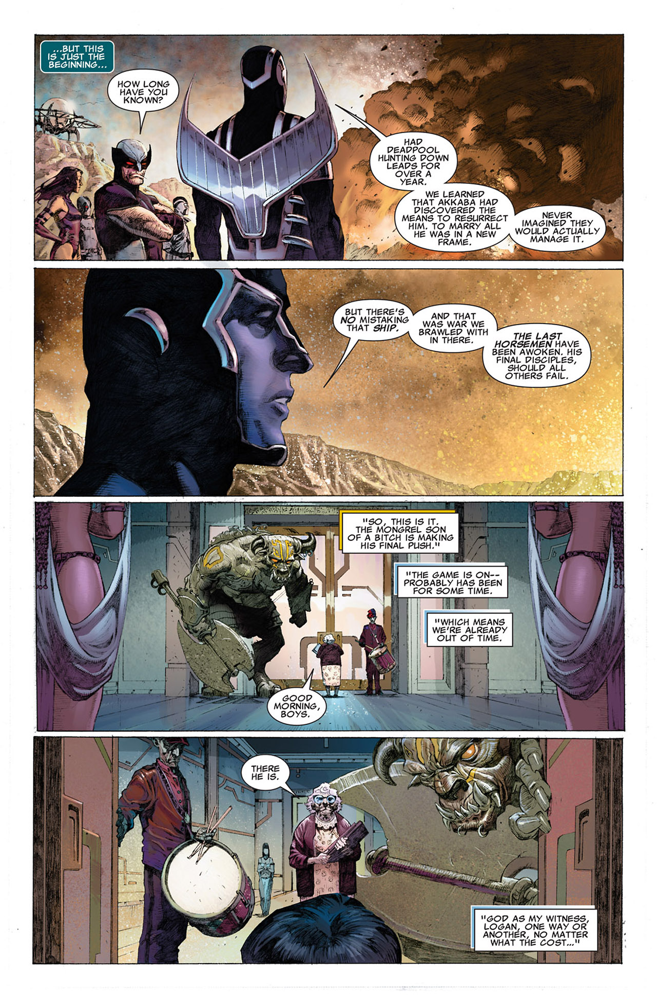 Read online Uncanny X-Force (2010) comic -  Issue #1 - 24