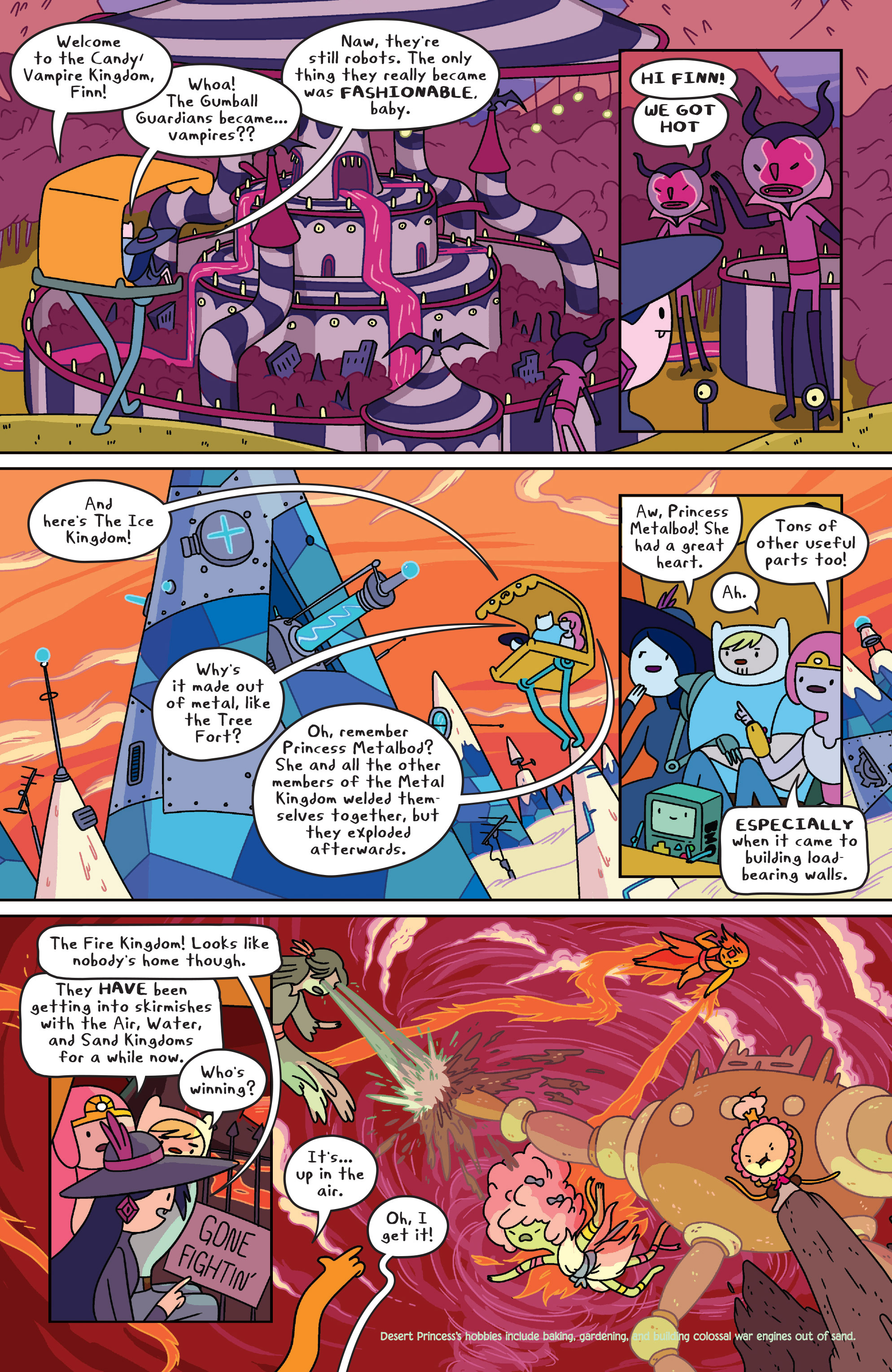Read online Adventure Time comic -  Issue #32 - 10
