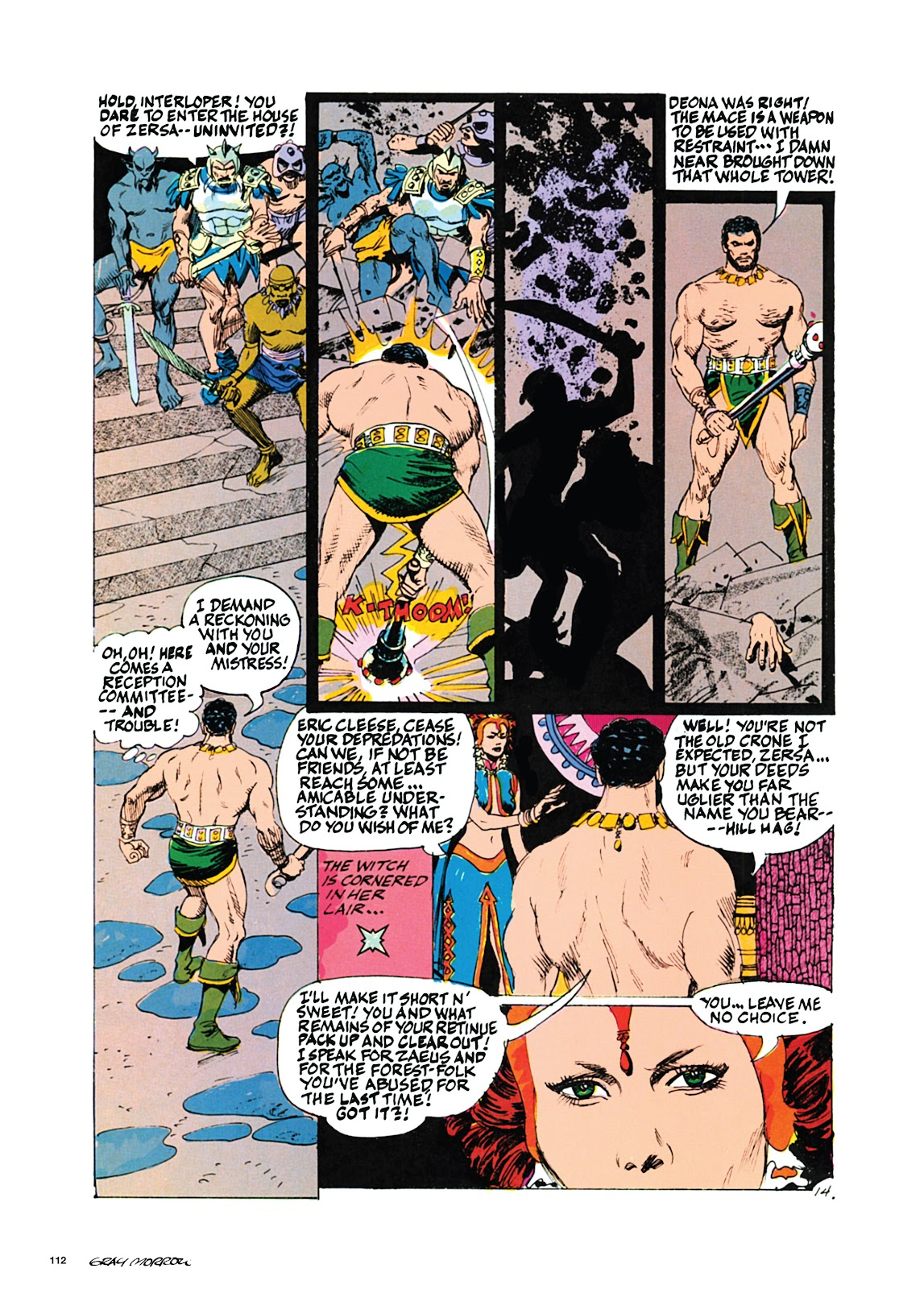 Read online Orion and Edge of Chaos comic -  Issue # TPB - 113