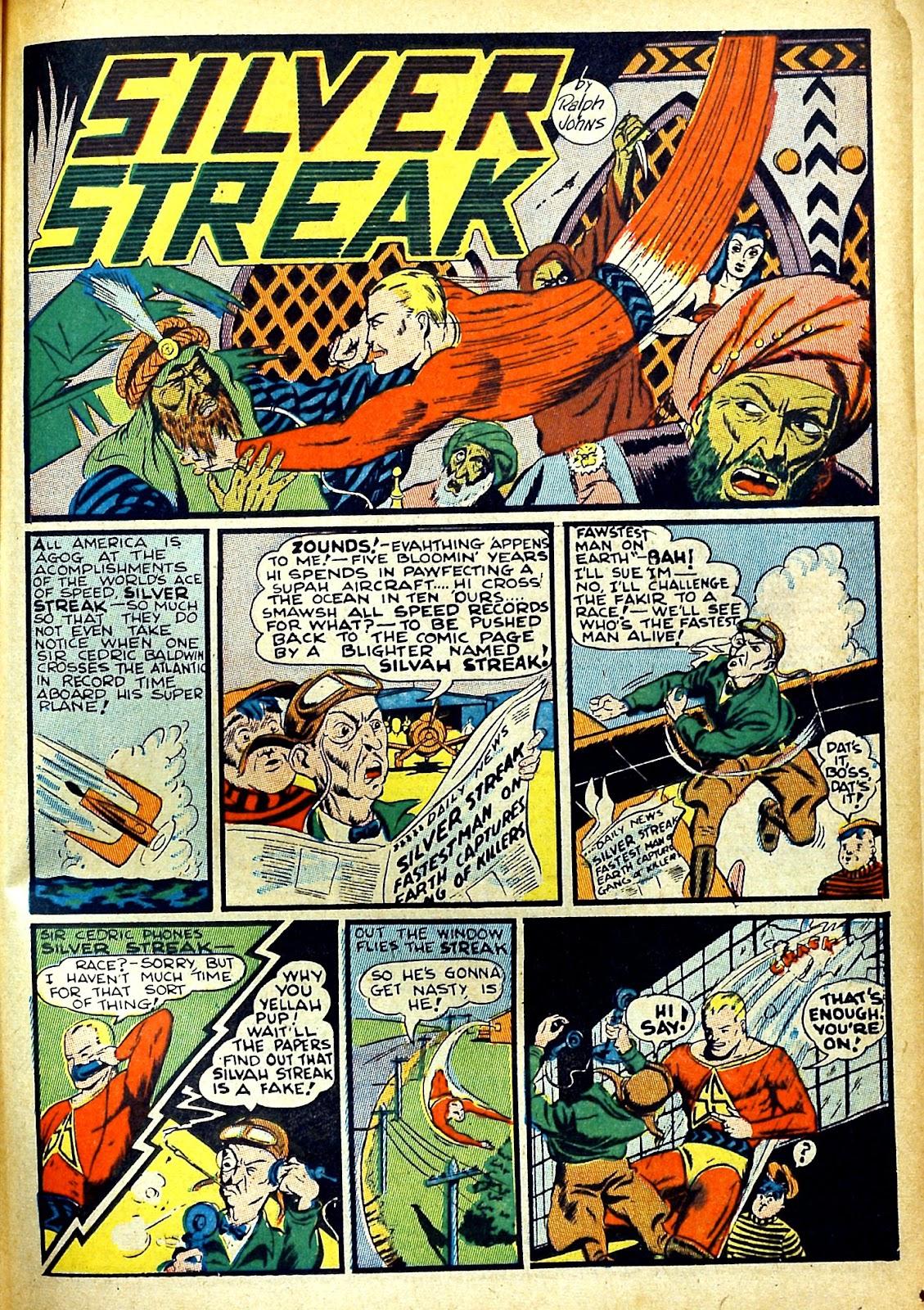 Read online Silver Streak Comics comic -  Issue #22 - 25