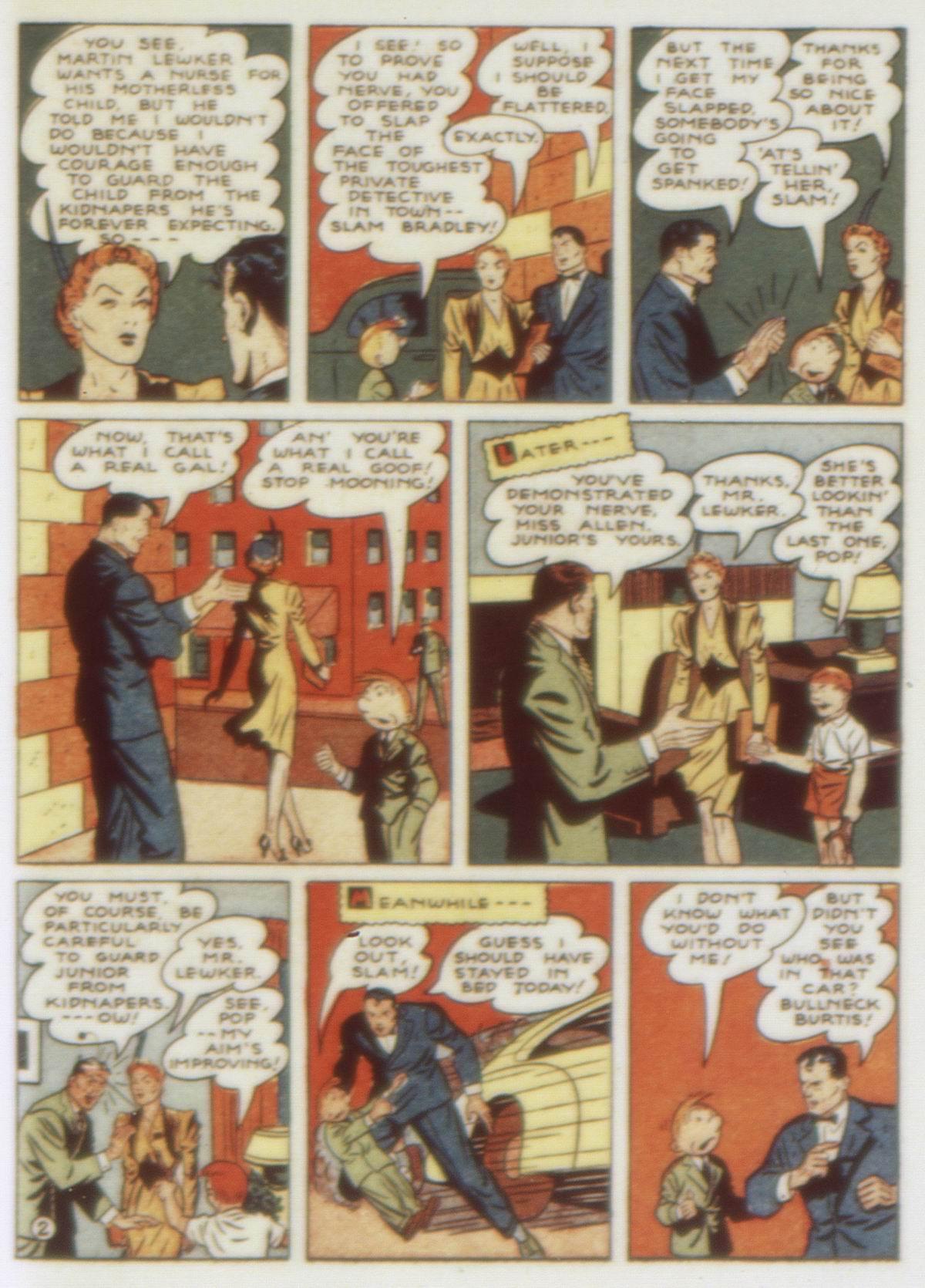 Read online Detective Comics (1937) comic -  Issue #58 - 59