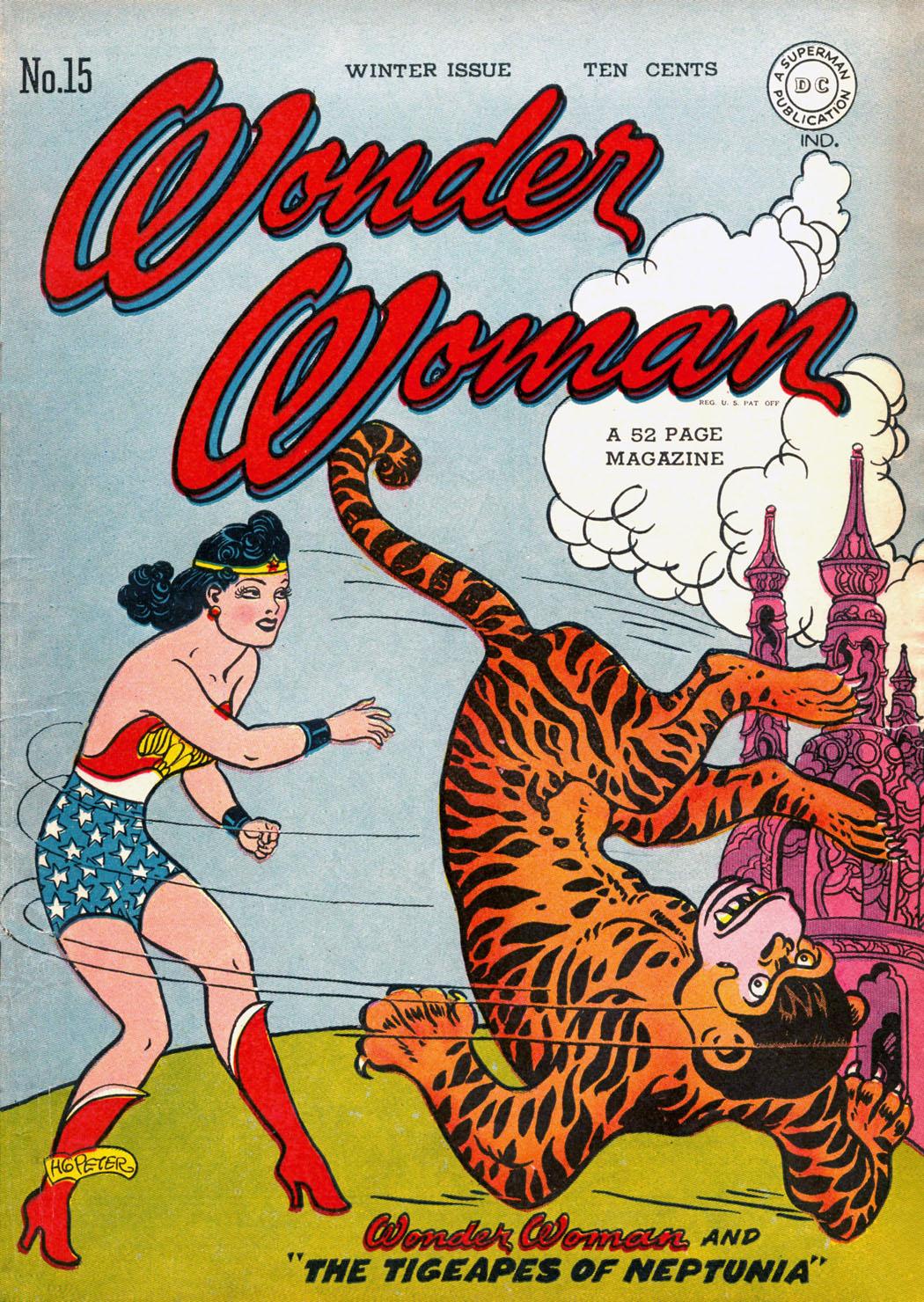 Read online Wonder Woman (1942) comic -  Issue #15 - 1