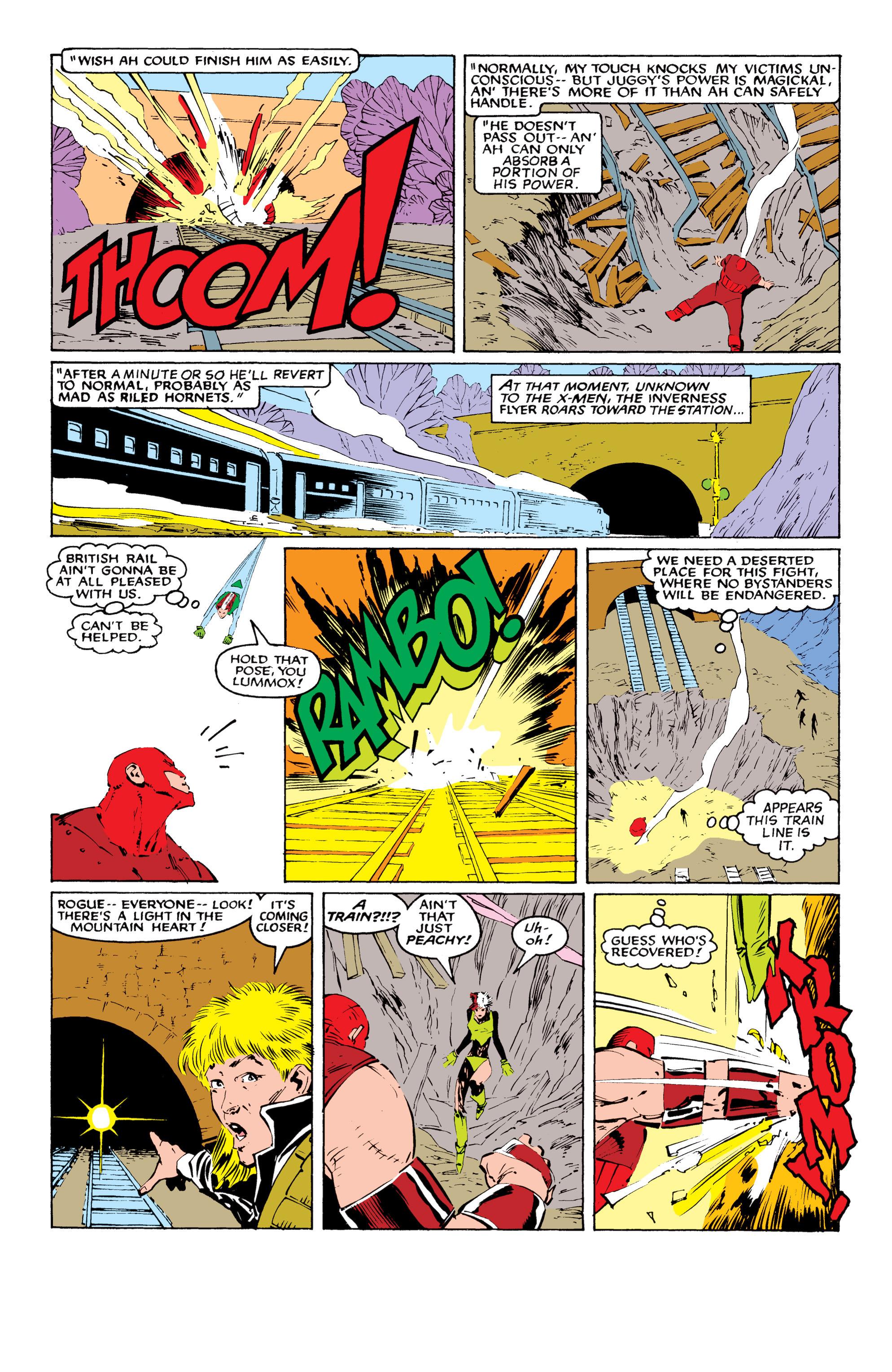 Read online Uncanny X-Men (1963) comic -  Issue #218 - 18