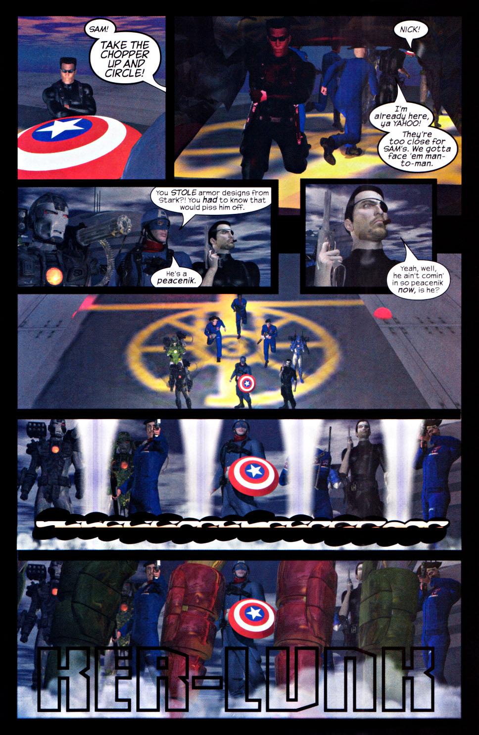 Read online U.S. War Machine 2.0 comic -  Issue #2 - 25