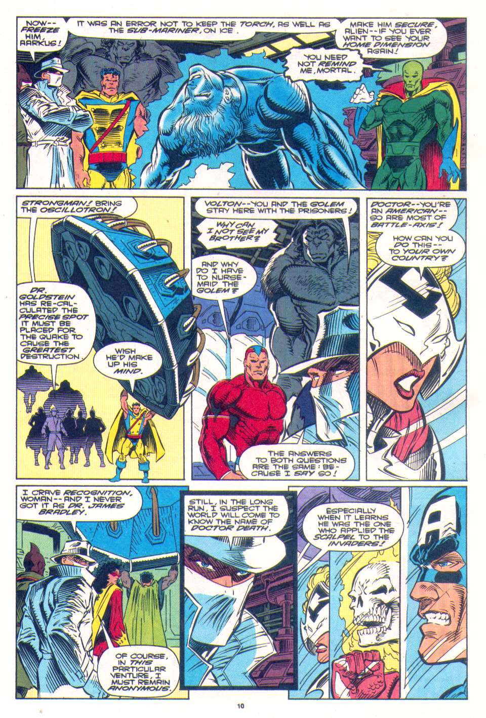 Read online The Invaders (1993) comic -  Issue #4 - 10