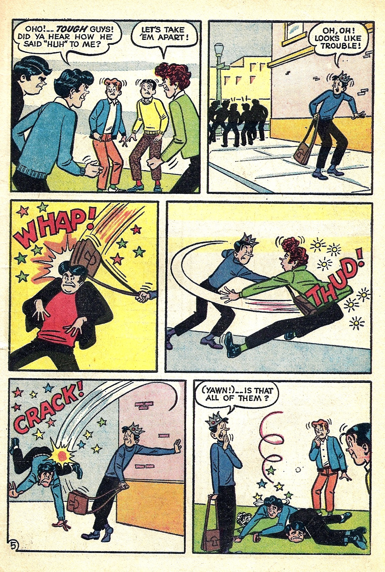 Read online Archie (1960) comic -  Issue #132 - 7