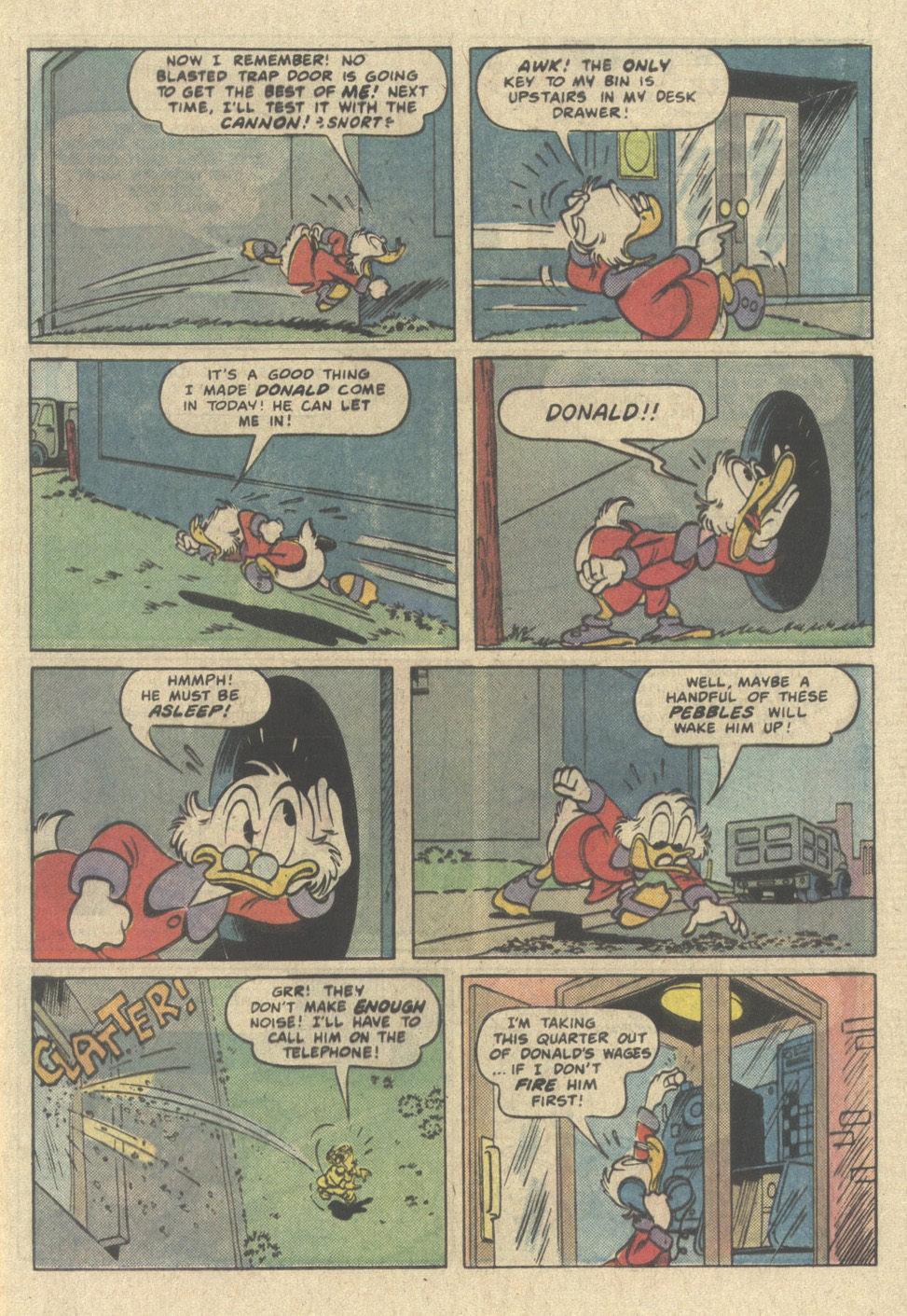 Read online Uncle Scrooge (1953) comic -  Issue #214 - 5