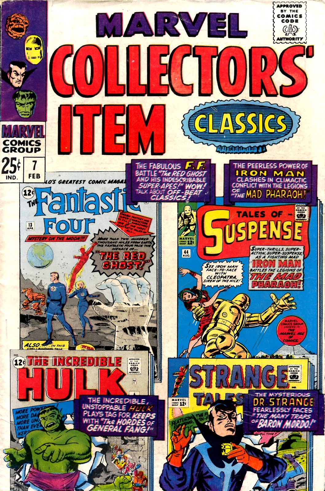 Marvel Collectors' Item Classics issue 7 - Page 1