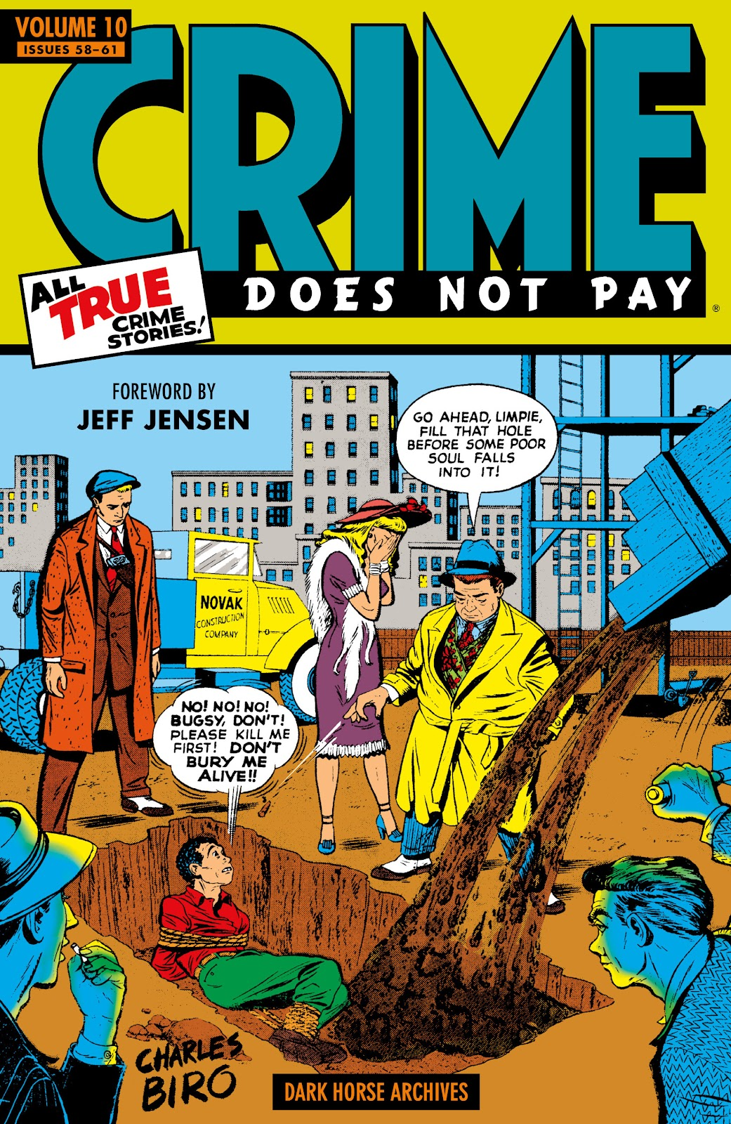 Read online Crime Does Not Pay Archives comic -  Issue # TPB 10 (Part 1) - 1