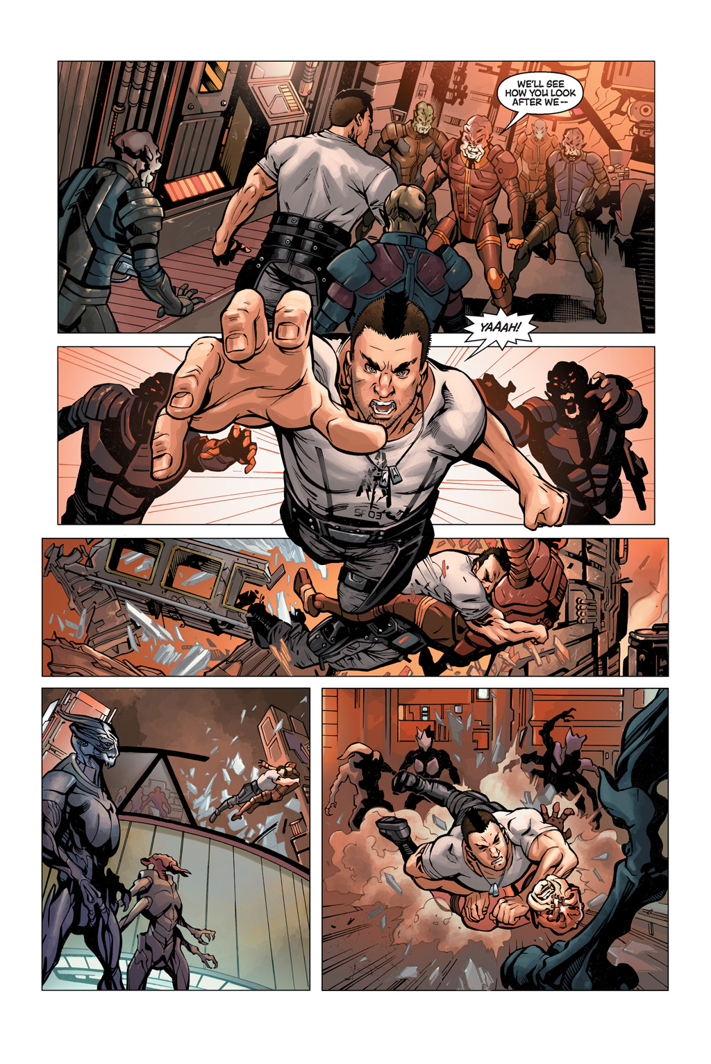 Read online Mass Effect: Conviction comic -  Issue # Full - 6