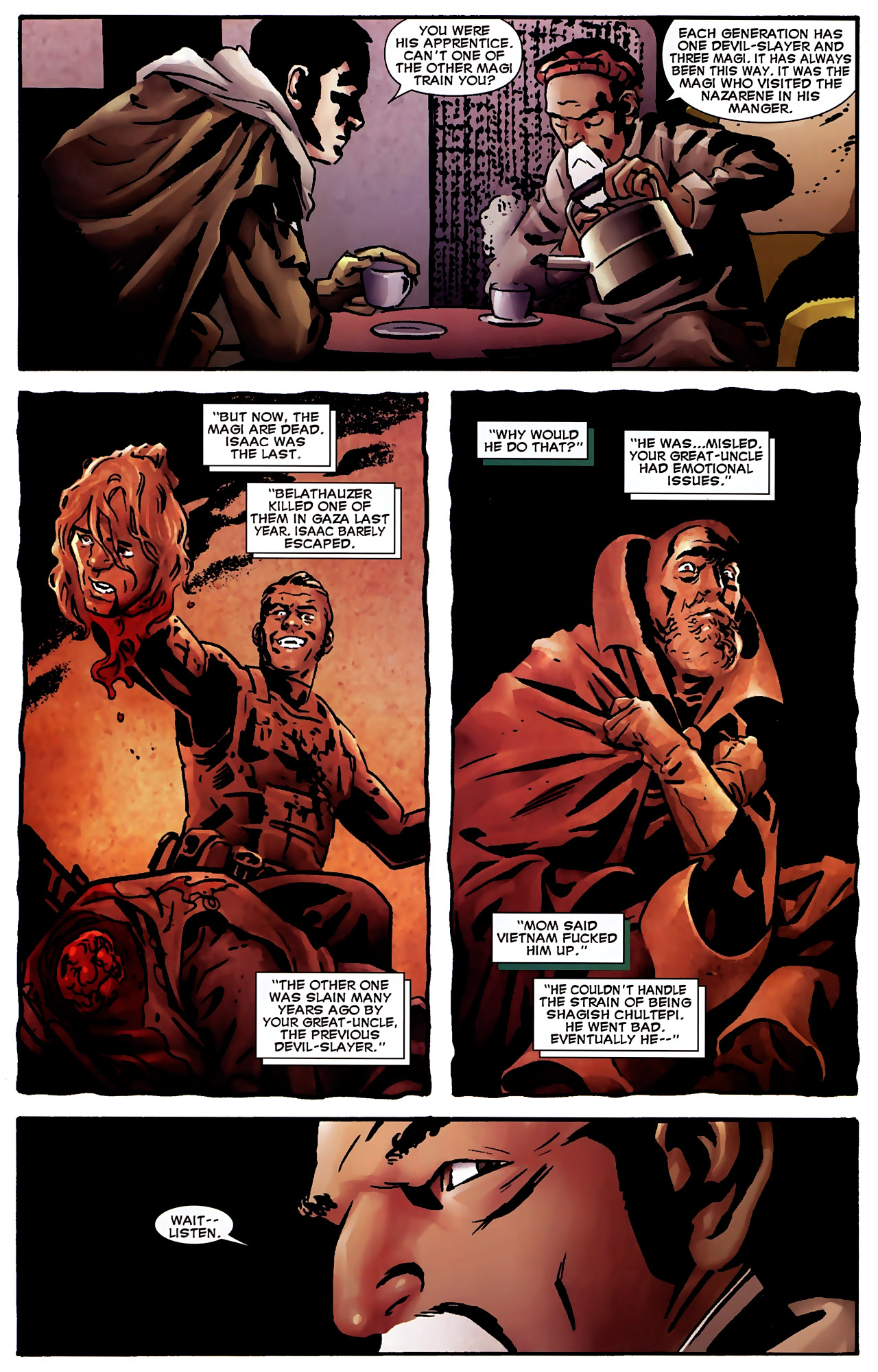Read online Dead of Night Featuring Devil-Slayer comic -  Issue #3 - 9