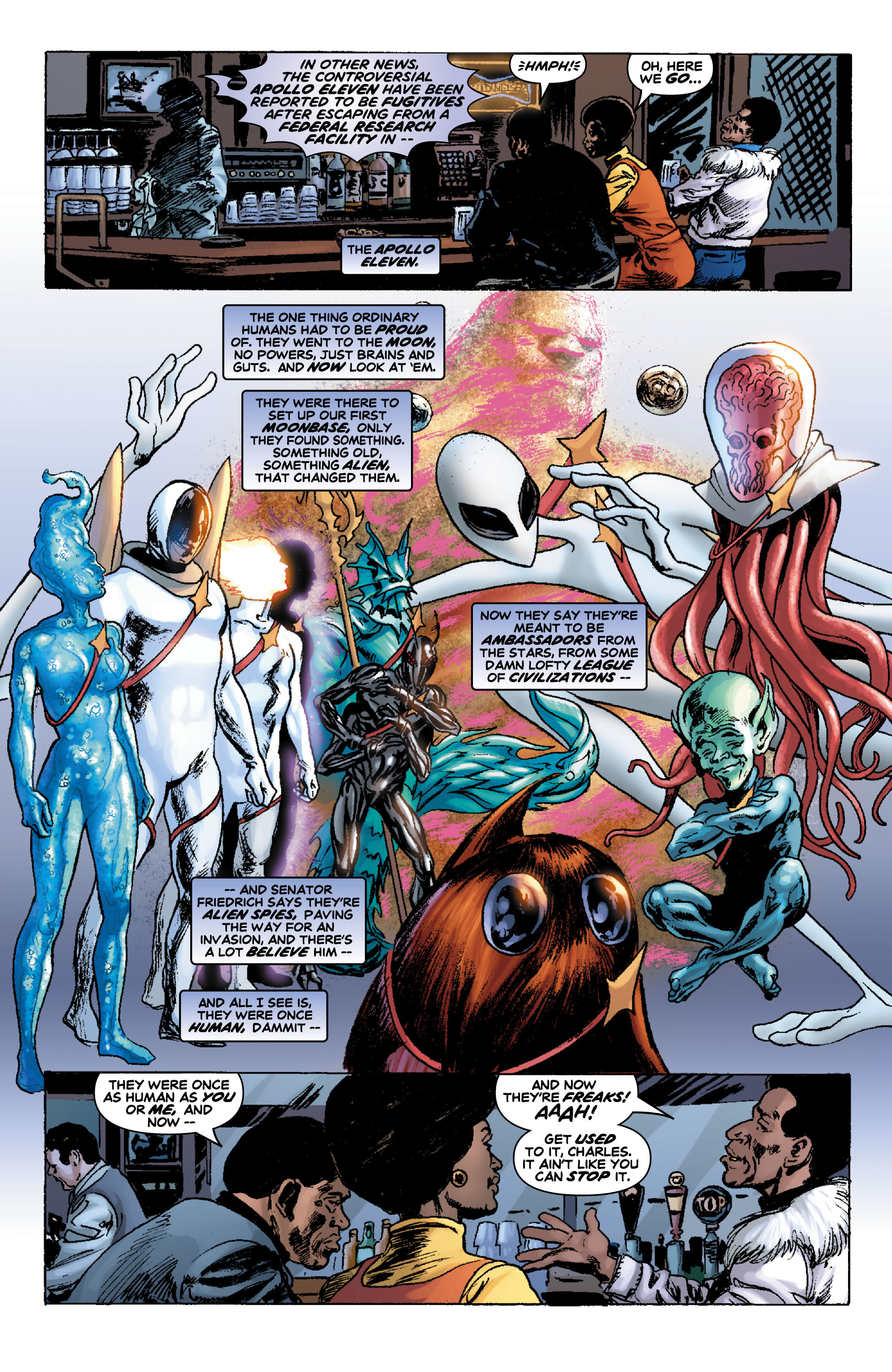 Read online Astro City: Dark Age/Book One comic -  Issue #1 - 17