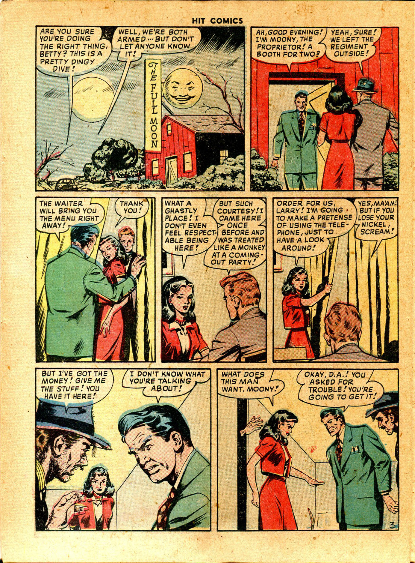 Read online Hit Comics comic -  Issue #57 - 34