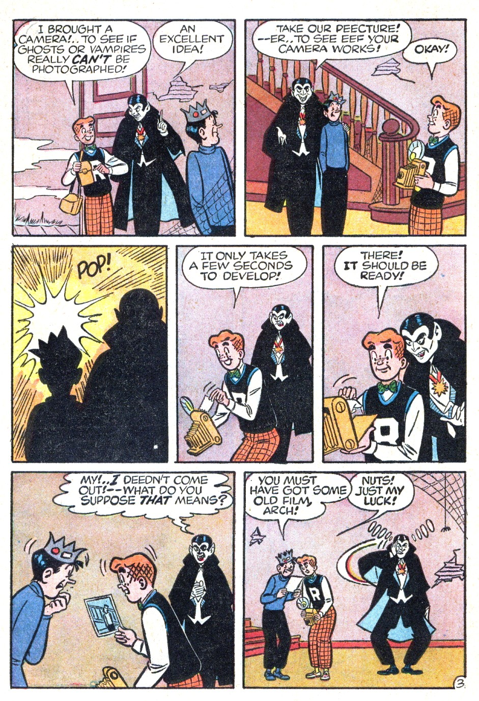 Read online Archie (1960) comic -  Issue #123 - 31