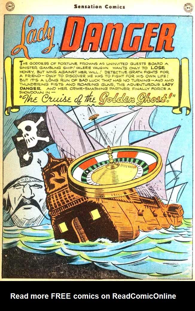 Read online Sensation (Mystery) Comics comic -  Issue #92 - 39