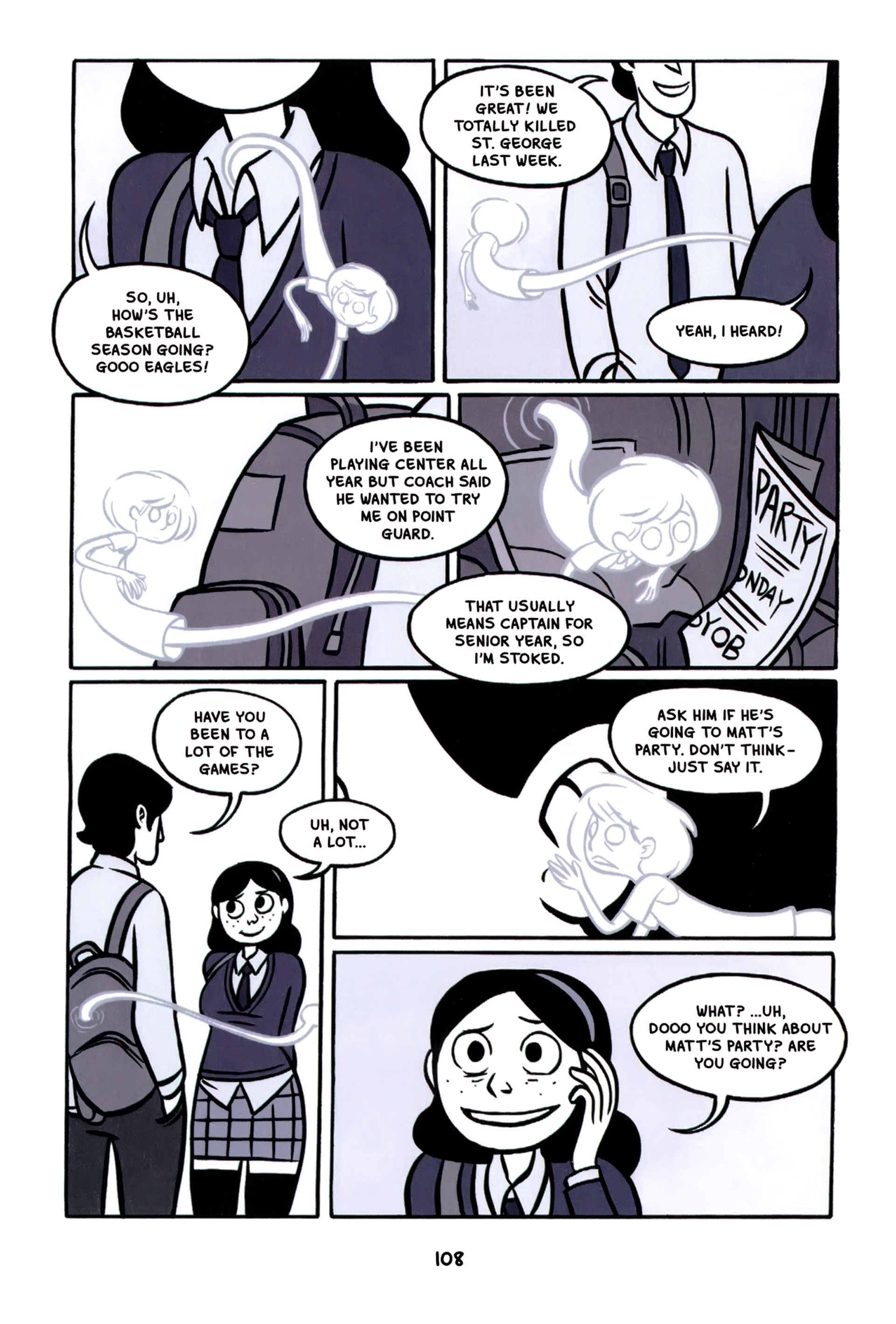 Read online Anya's Ghost comic -  Issue #1 - 109